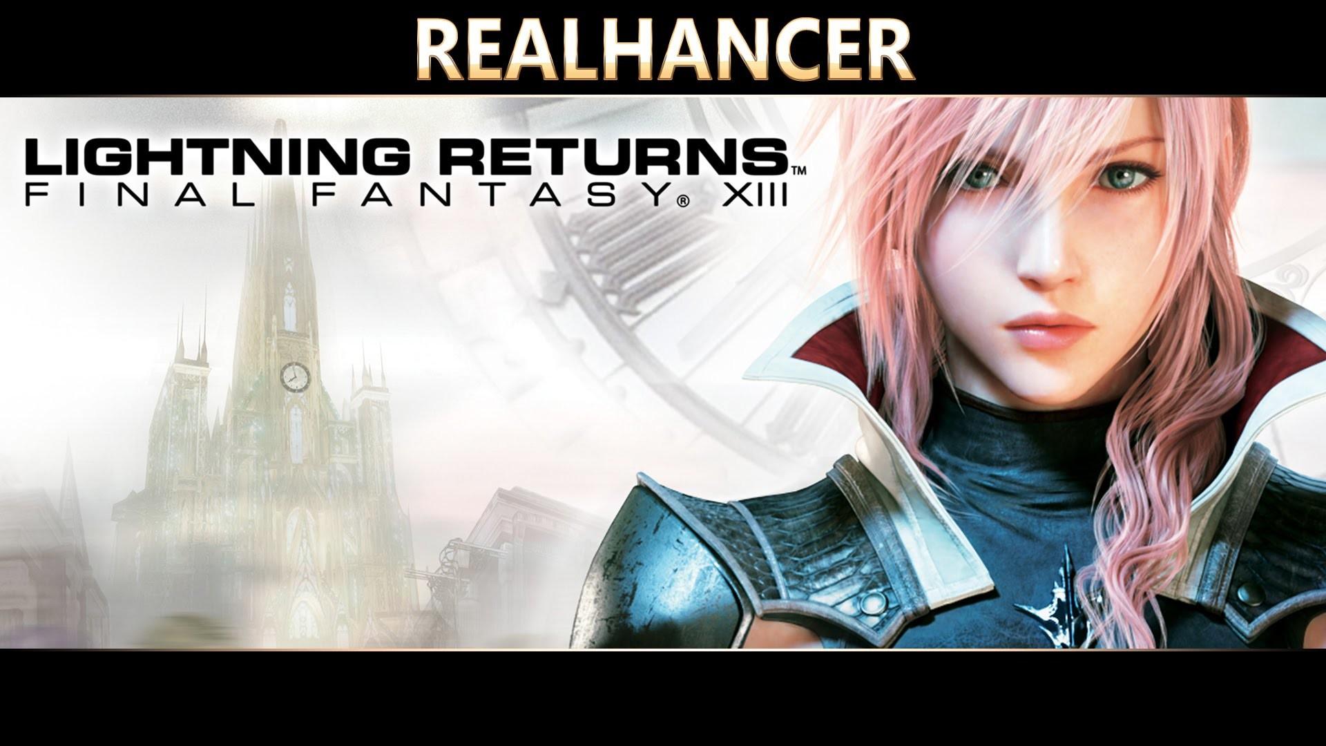 Final Fantasy XIII-3 Lightning Returns Realhancer Reshade Mod PC Ultra  Details – YouTube