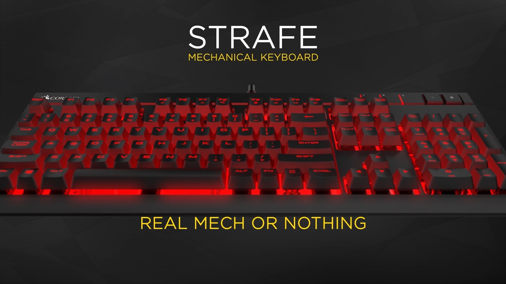 Corsair Strafe mechanical gaming keyboard: the official product trailer! –  YouTube
