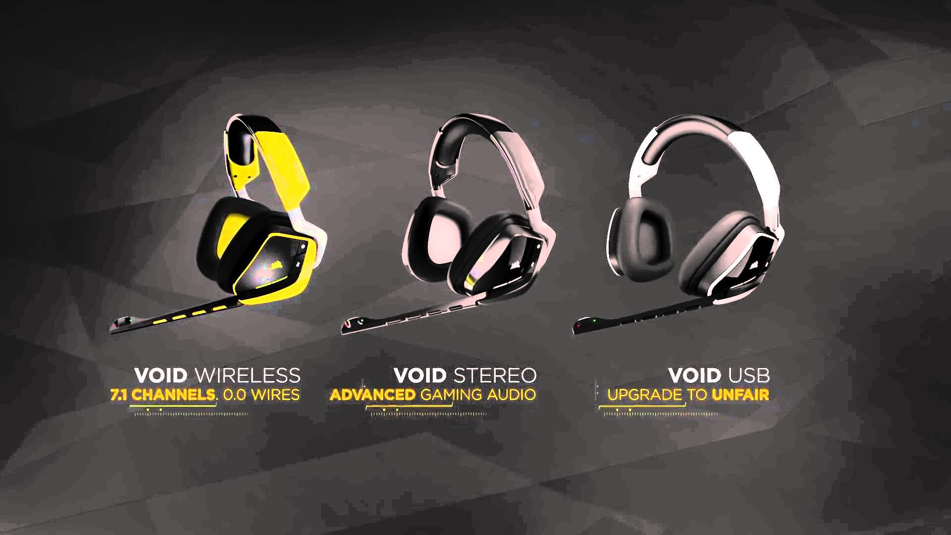 Corsair Void Gaming Headsets the Official Product Trailer