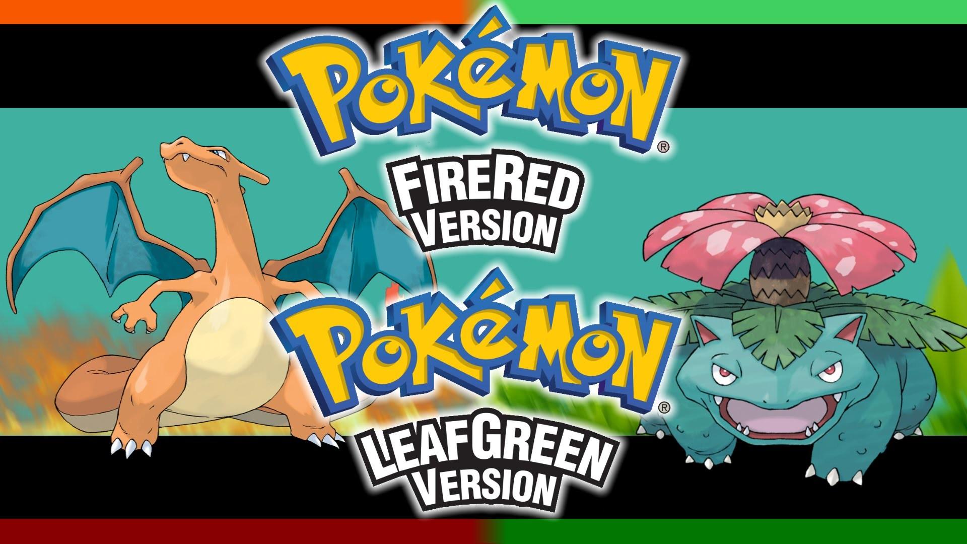 Opening & Title Screen -Pok̩mon FireRed & LeafGreen ~ Arrangement- РYouTube