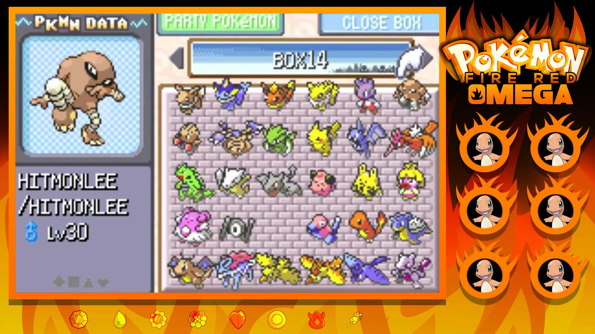 … Pokemon Fire Red OMEGA Nuzlocke by TheShidori