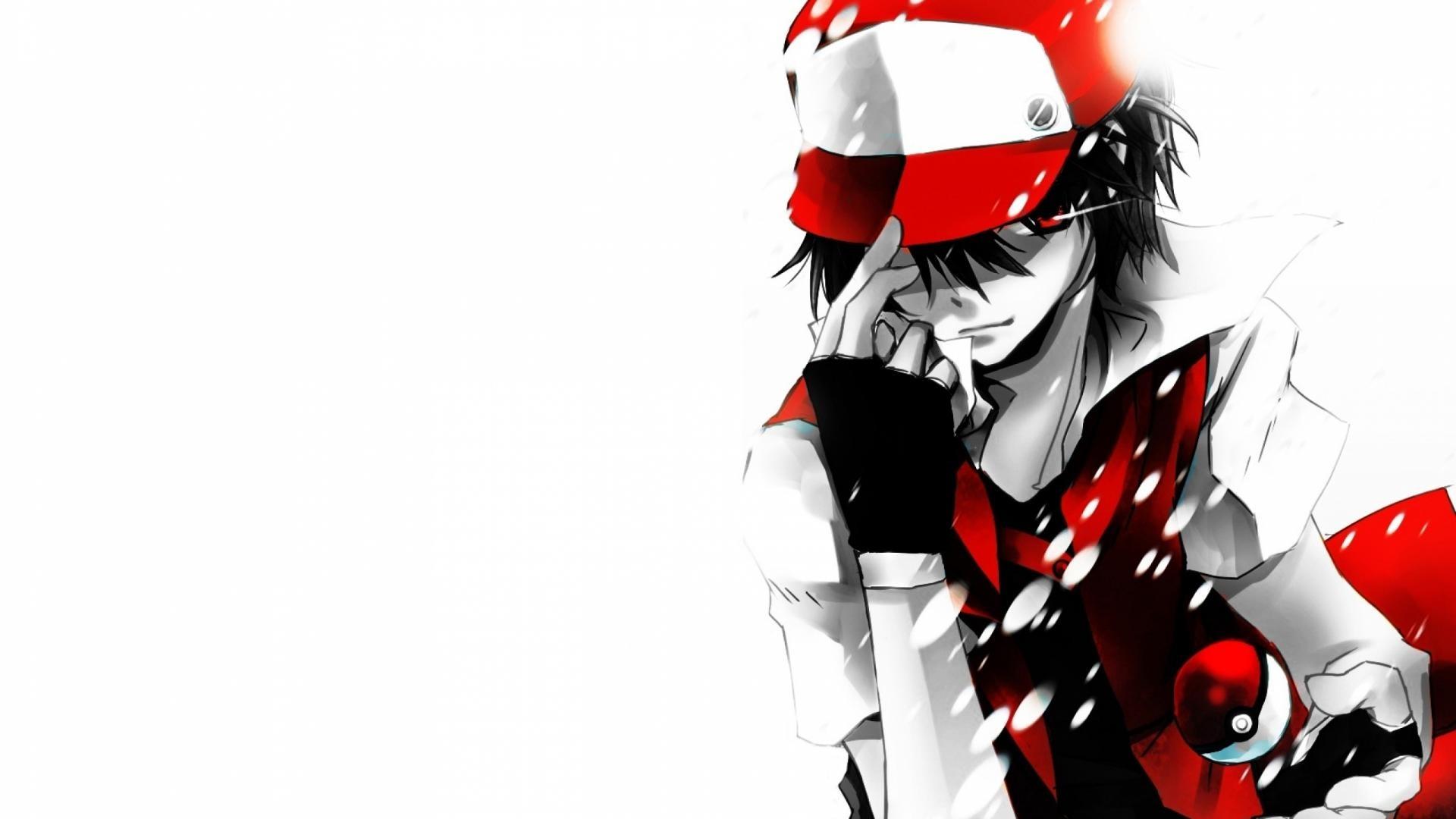 Red Pokemon Ash Wallpapers HD Wallpaper