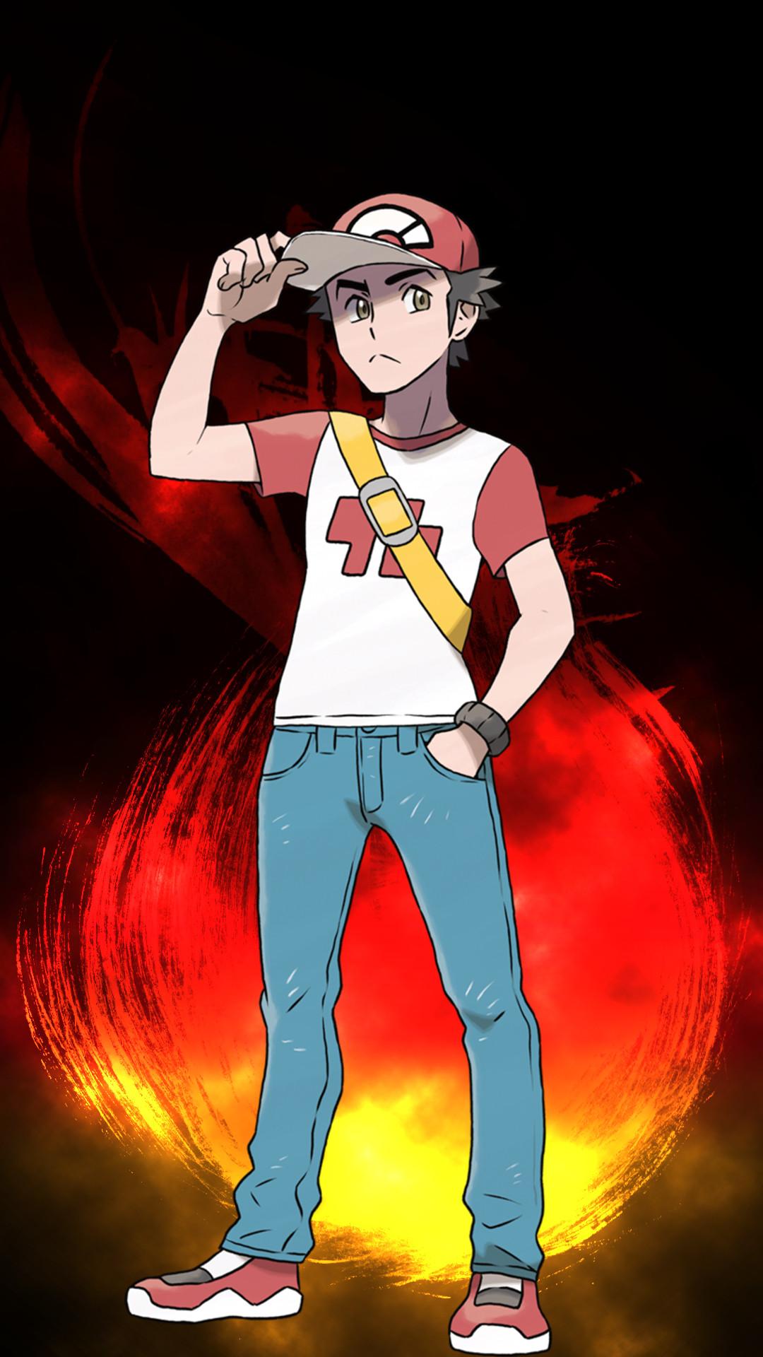 pokemon pokemon wallpaper pokemon wallpapers anime anime wallpaper anime  wallpapers trainer red trainer blue trainer green