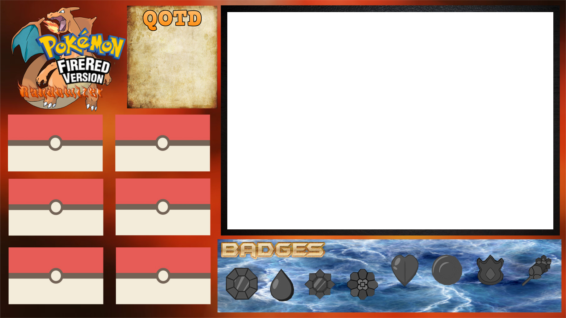 Pokemon FireRed Randomizer Nuzlocke Sidebar by codyfrisbee Pokemon FireRed  Randomizer Nuzlocke Sidebar by codyfrisbee