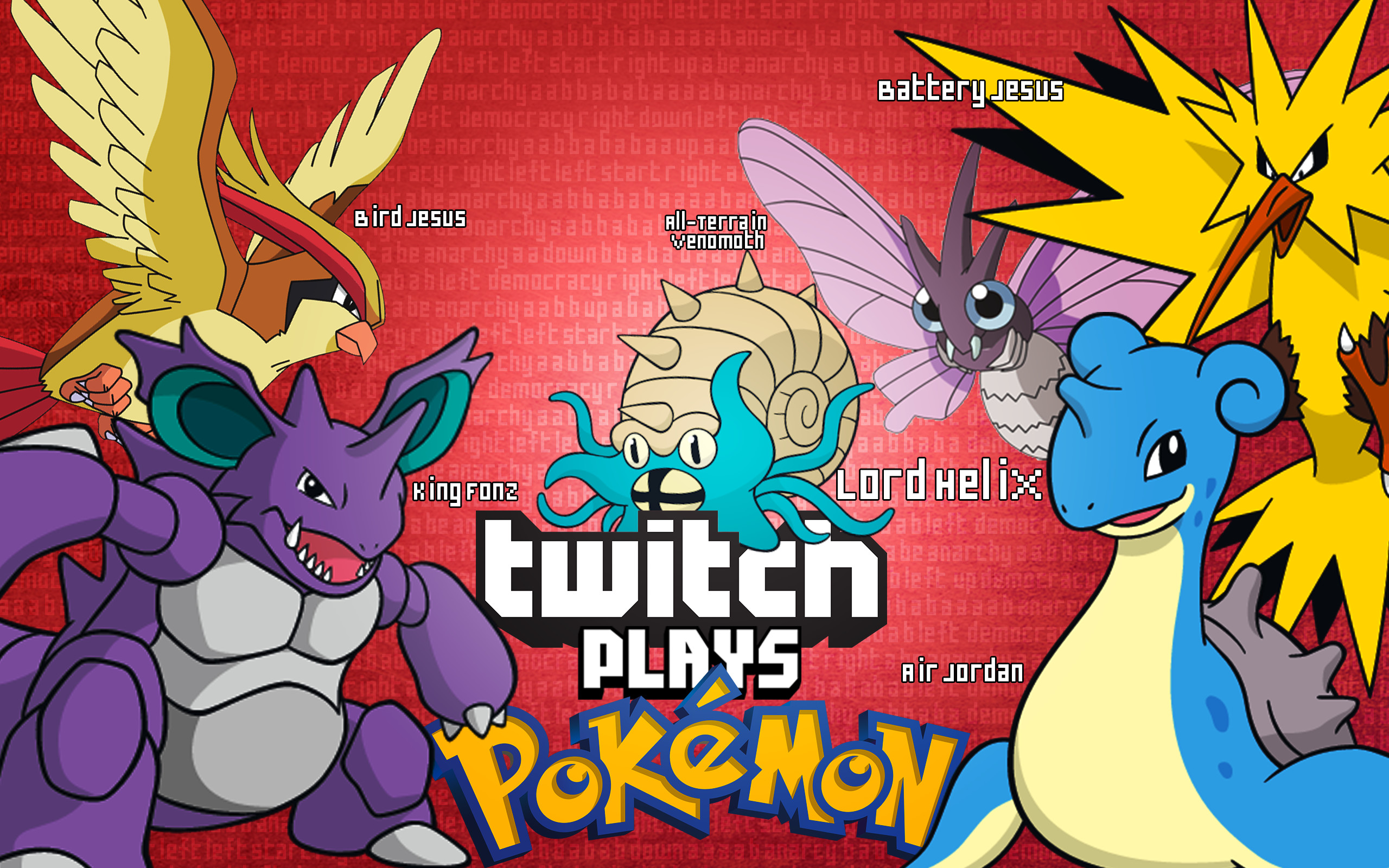 Twitch Plays Pokemon Wallpapers