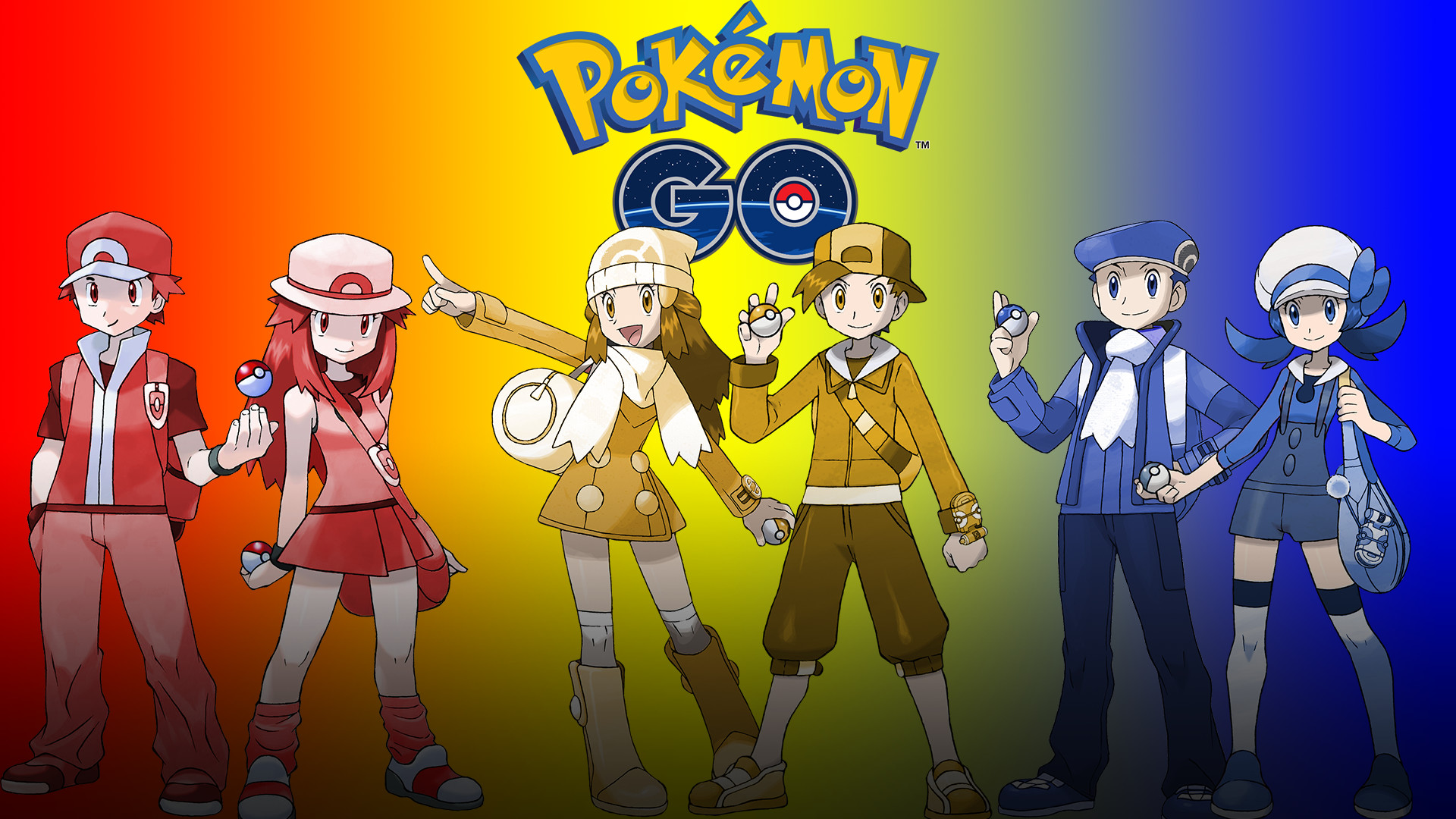 I made a desktop wallpaper for pokemon go! So here's a little present for  your computer as we venture towards july :D …