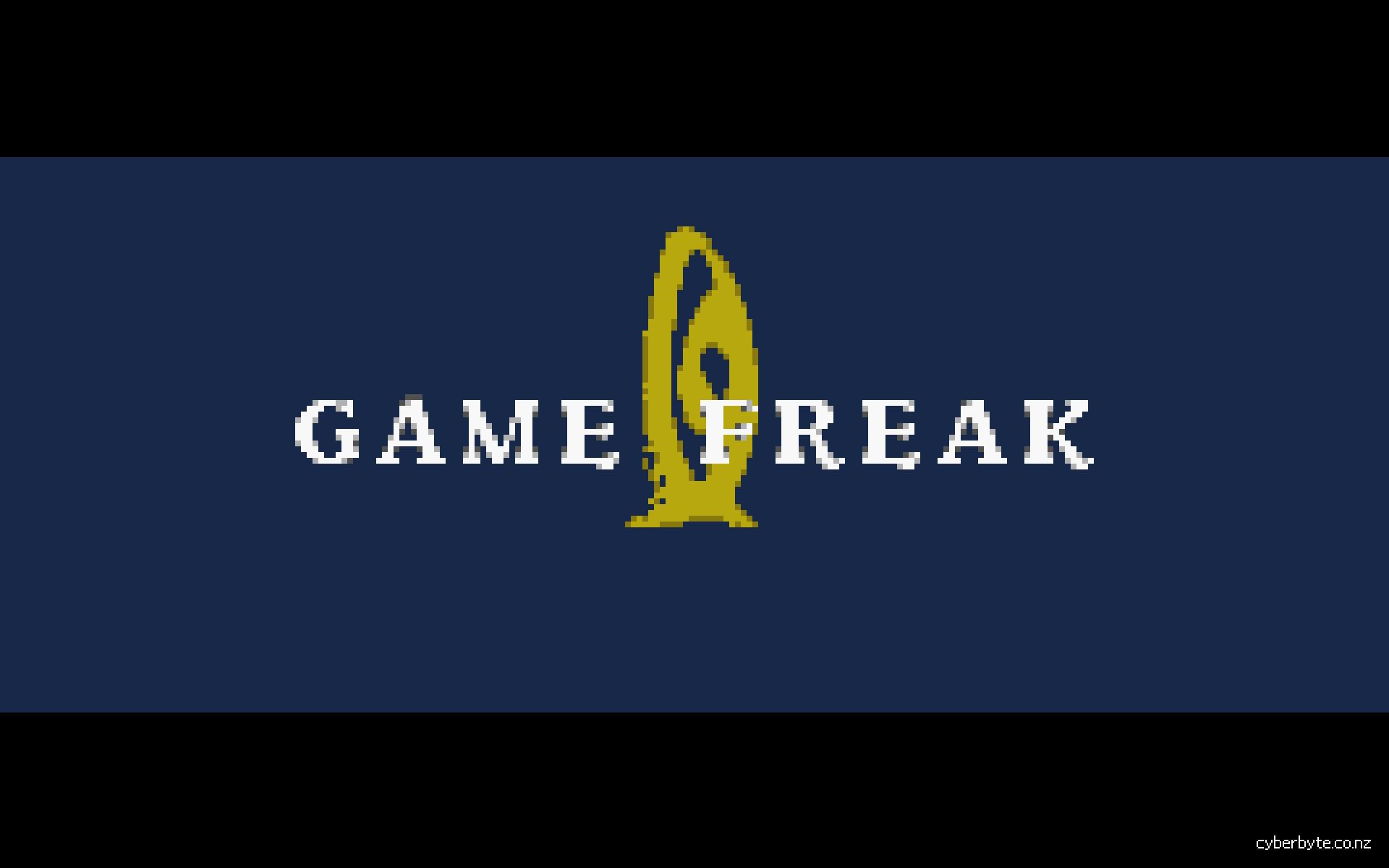 … Game Freak Logo Wallpaper FireRed by cyberbyte13