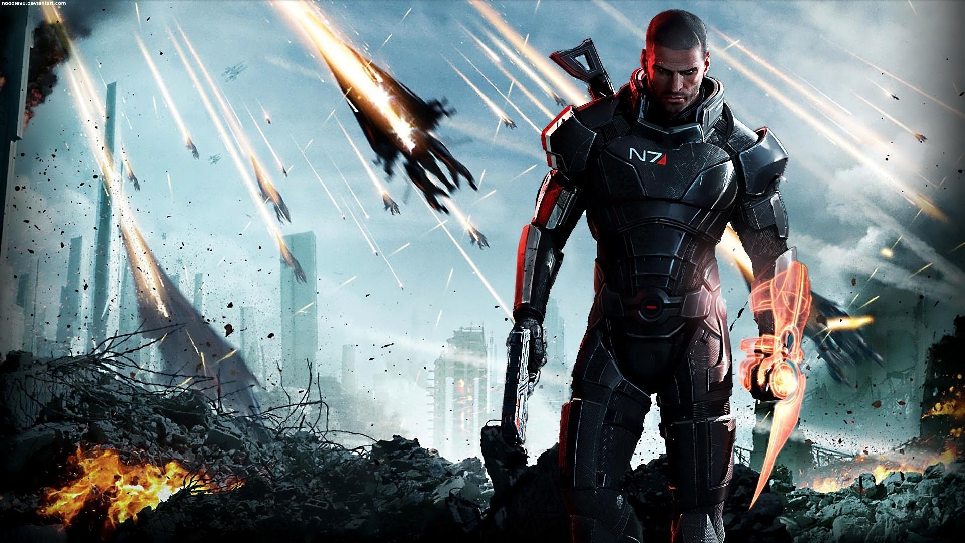 Legion Mass Effect HD Wallpapers Backgrounds Wallpaper