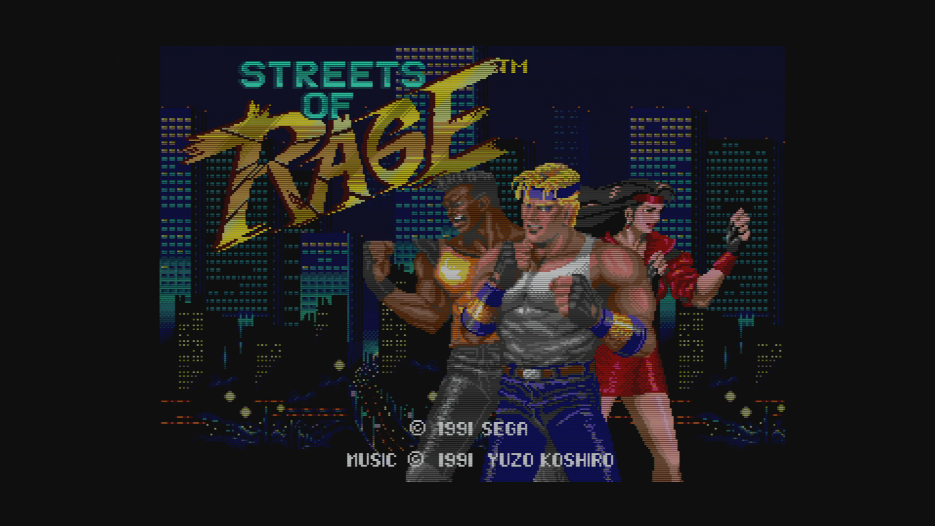 Streets of Rage – Genesis/MD Model 1 – [1920×1080] XRGB Scaled .