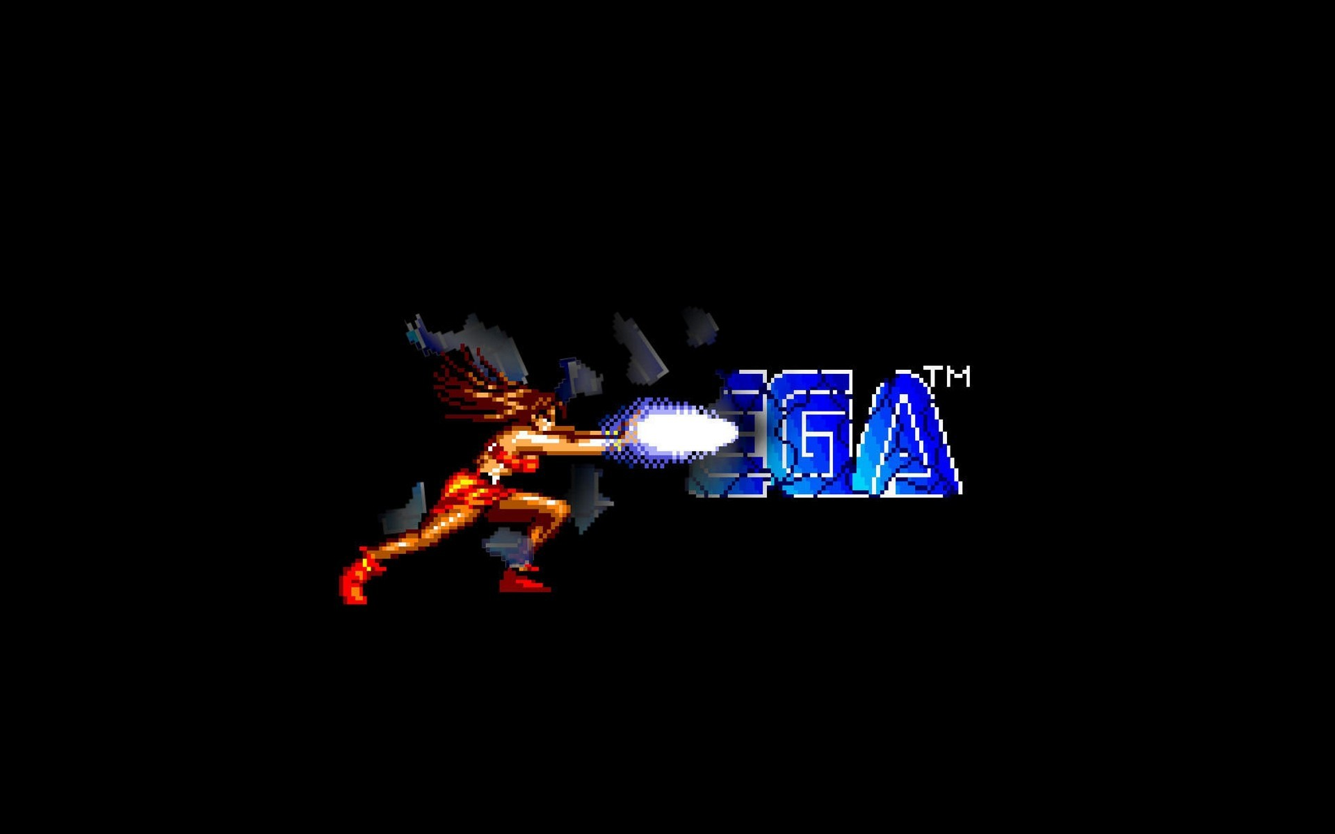 General Sega Streets of Rage simple background 16-bit Blaze  Fielding