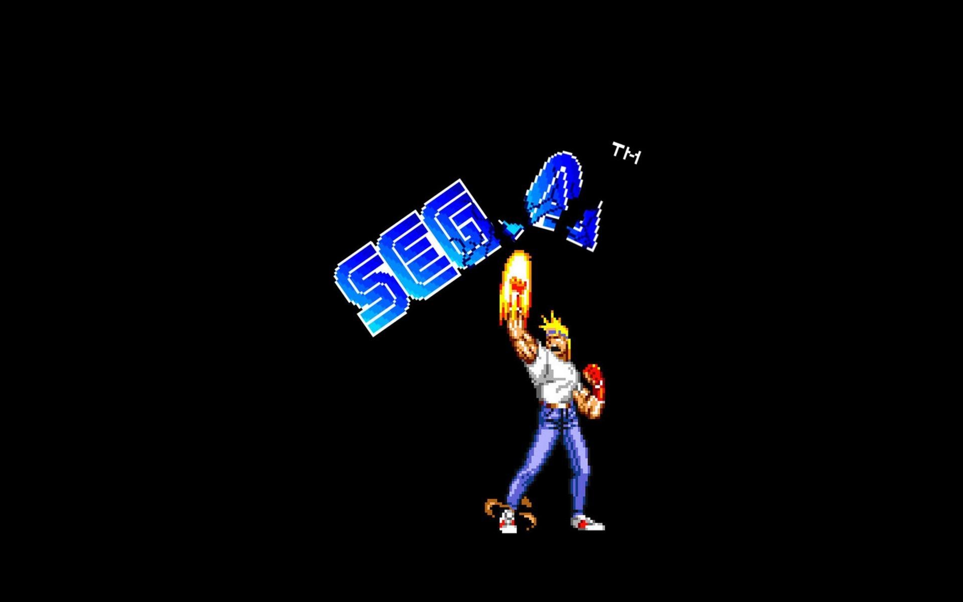 General Sega Streets of Rage simple background 16-bit Axel Stone