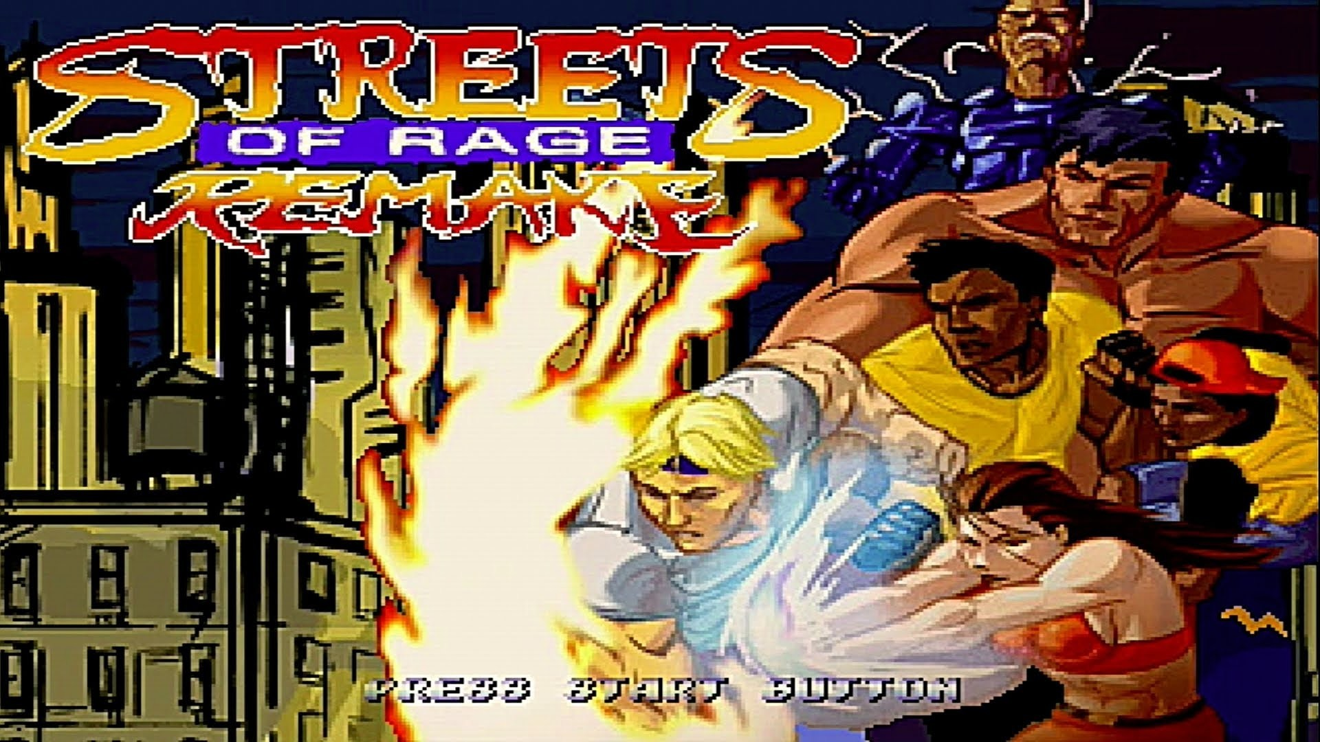 Streets of Rage Remake (PC Gameplay)