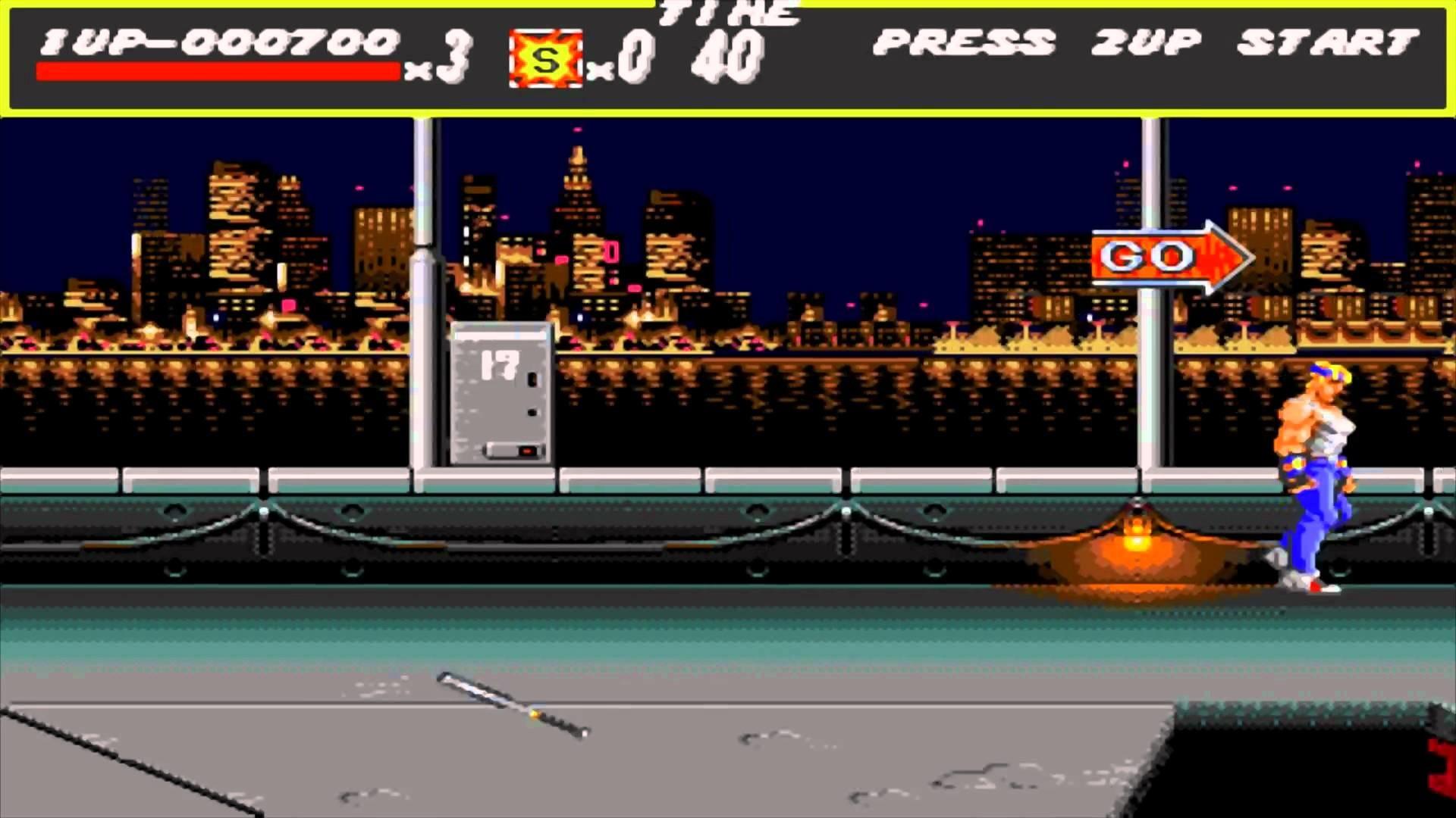 SEGA – Streets of Rage – Round 4 [PC] (1080p)