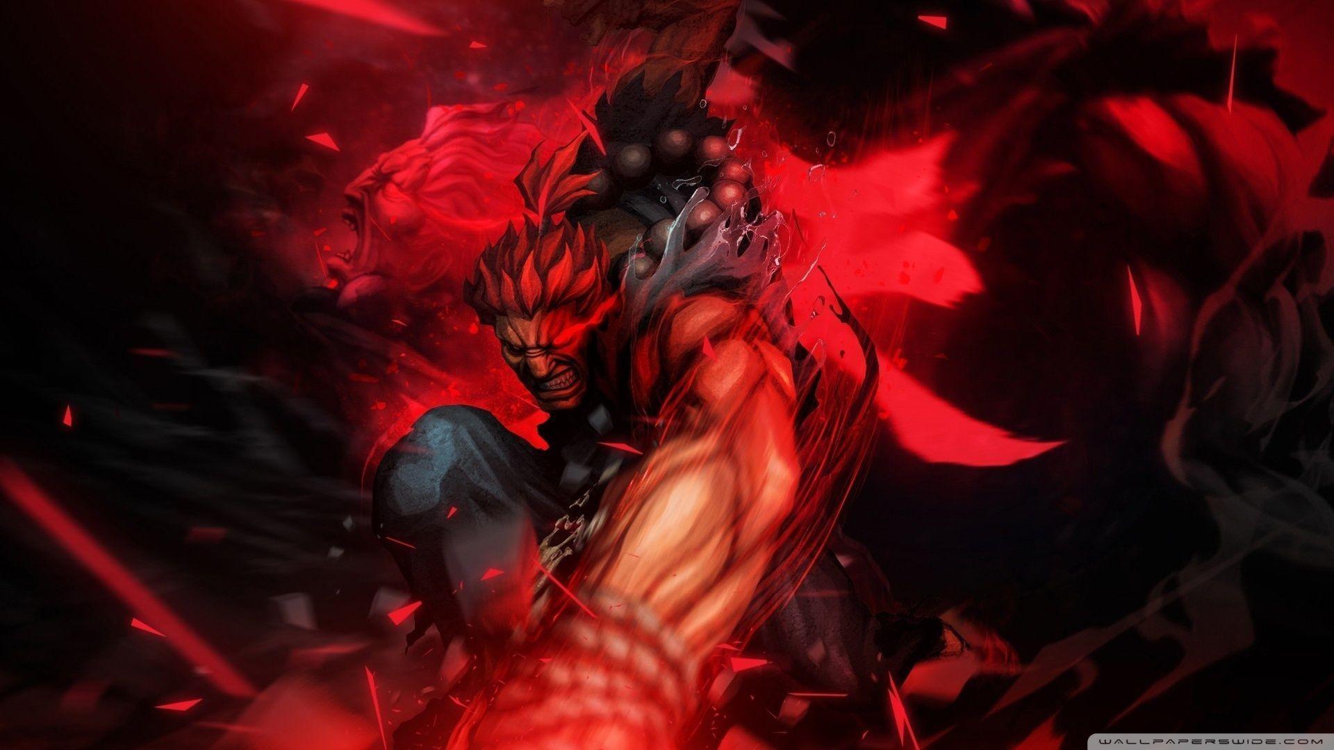 Download Tekken Akuma Street Fighter Wallpaper 1920×1080