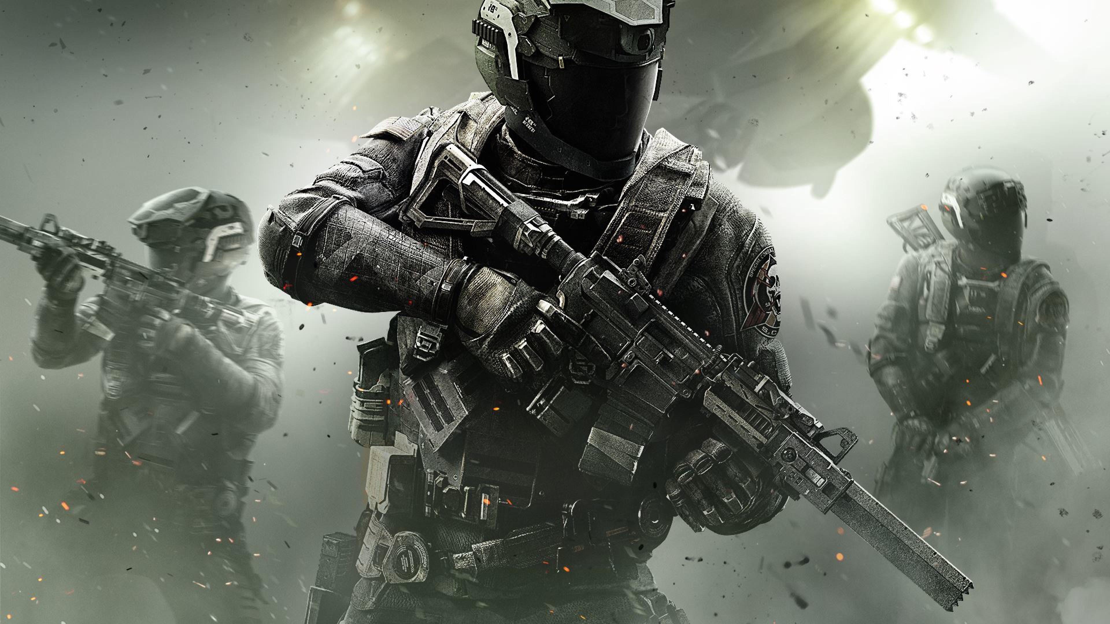 Preview wallpaper call of duty, infinite warfare, infinity ward 3840×2160