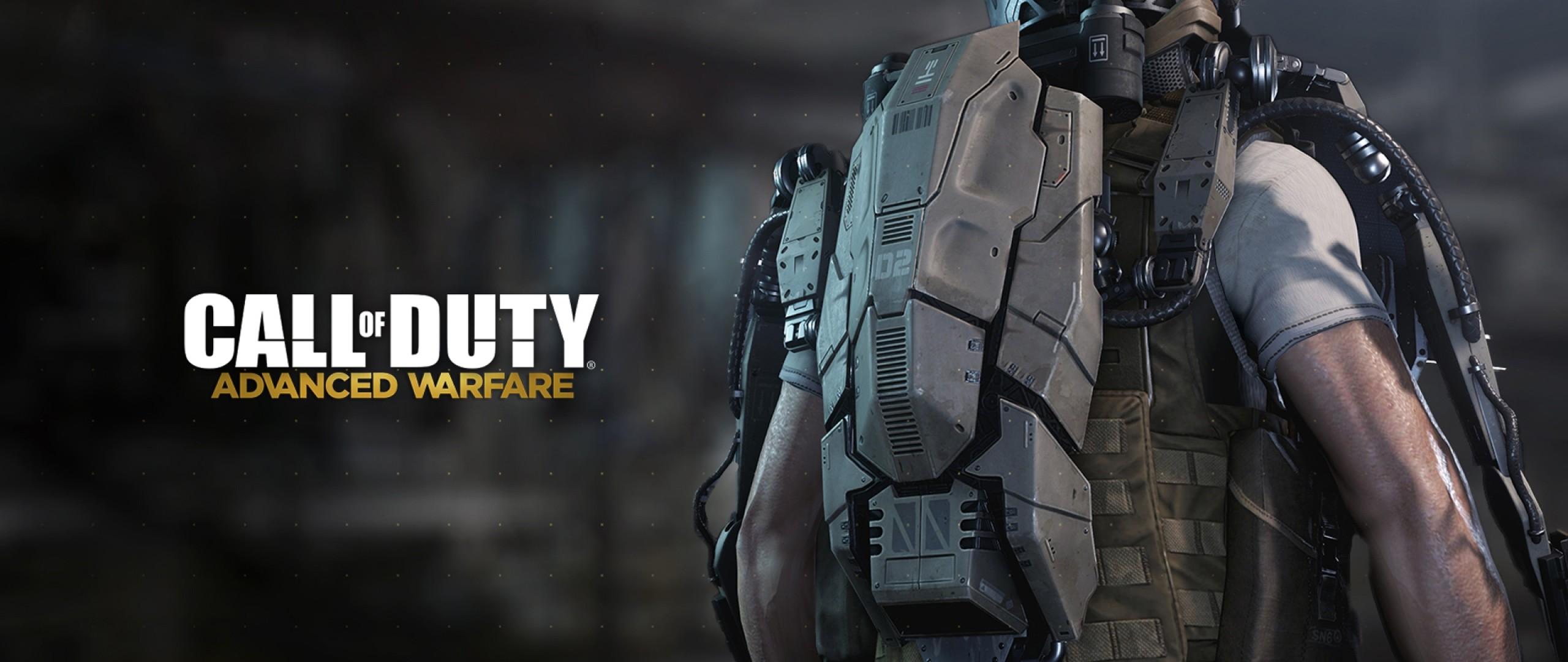 Preview wallpaper call of duty, call of duty advanced warfare, art 2560×1080