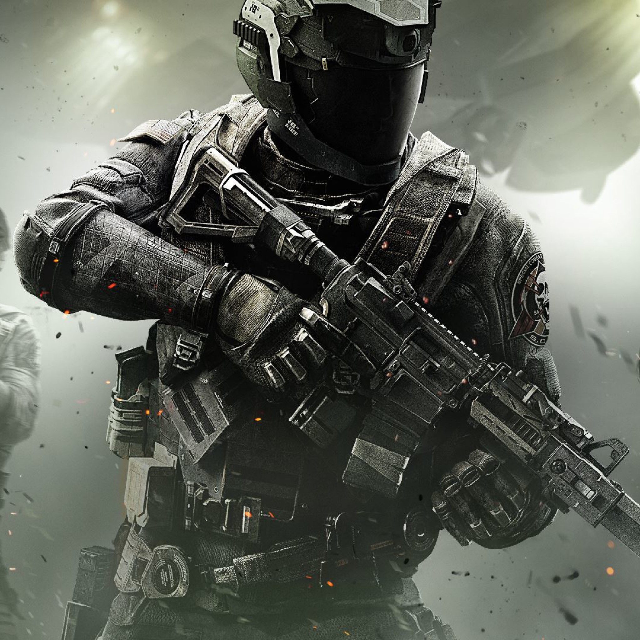 Preview wallpaper call of duty, infinite warfare, infinity ward 2048×2048