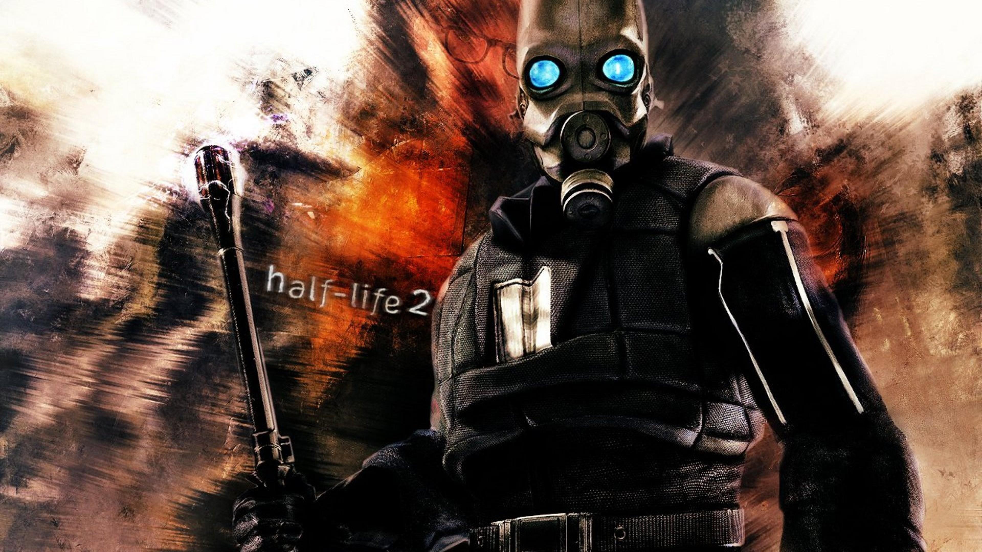 Preview wallpaper half-life 2, guard, mask, look 3840×2160