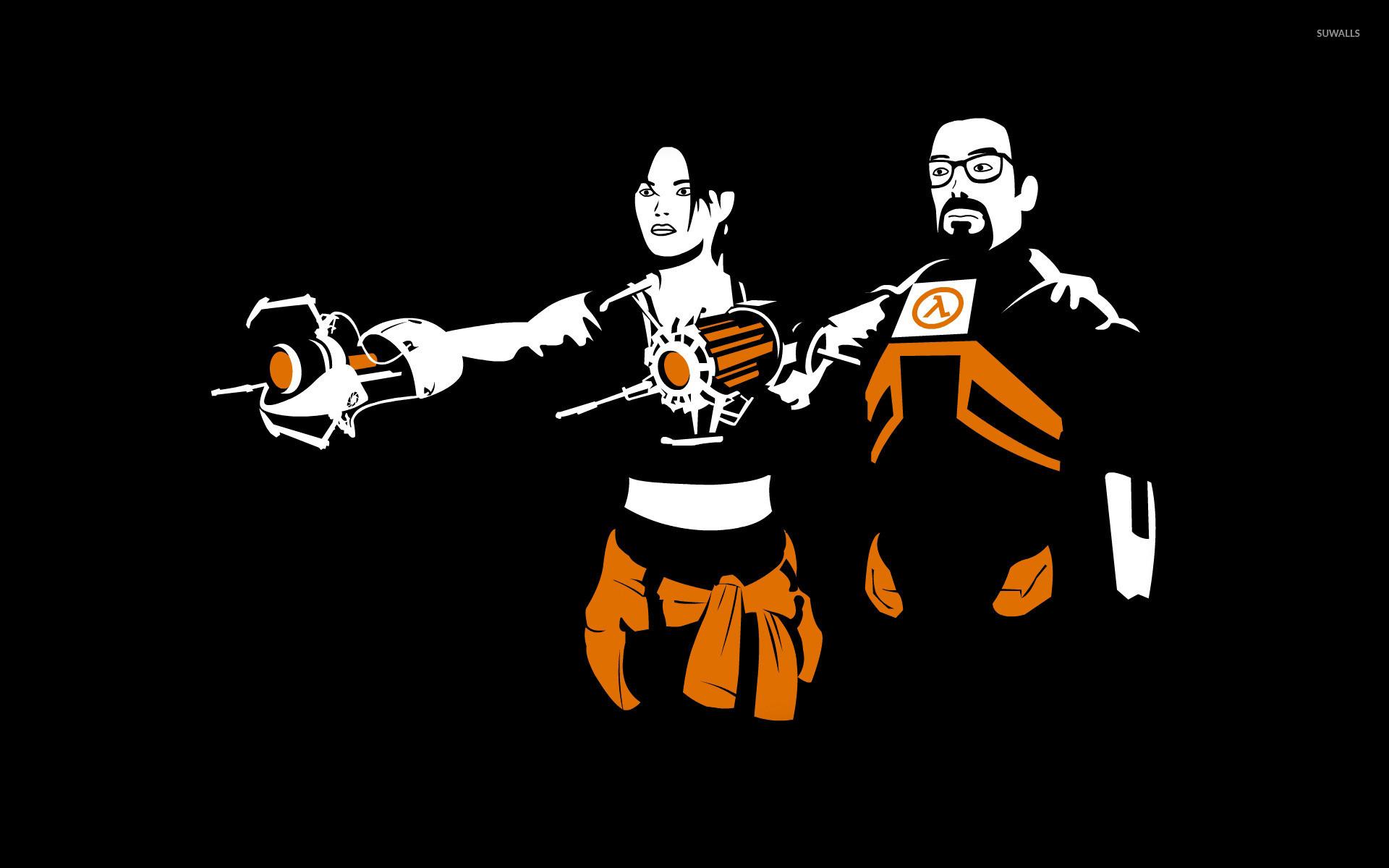 Alyx Vance and Gordon Freeman – Half-Life 2 wallpaper