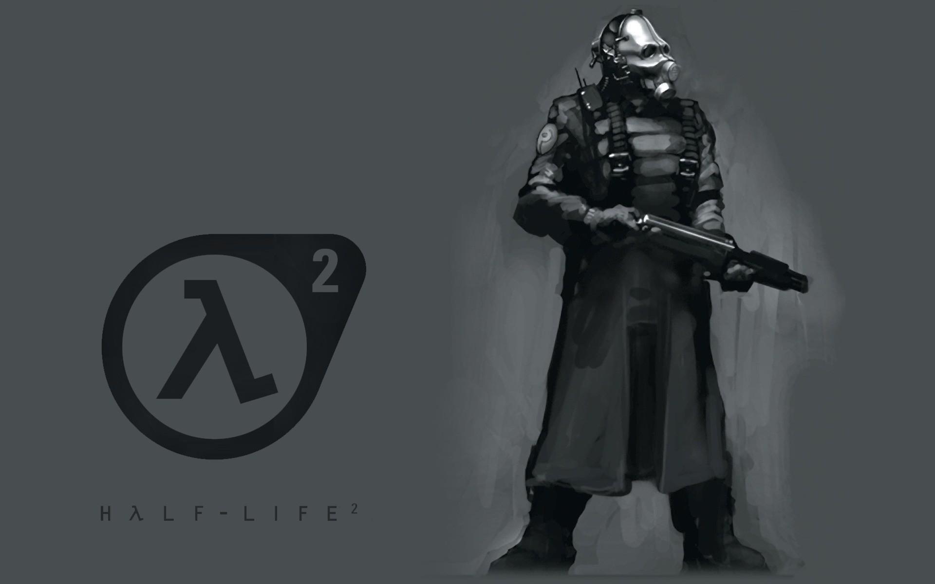 wallpaper Combine · shotguns · artwork · Half-Life 2