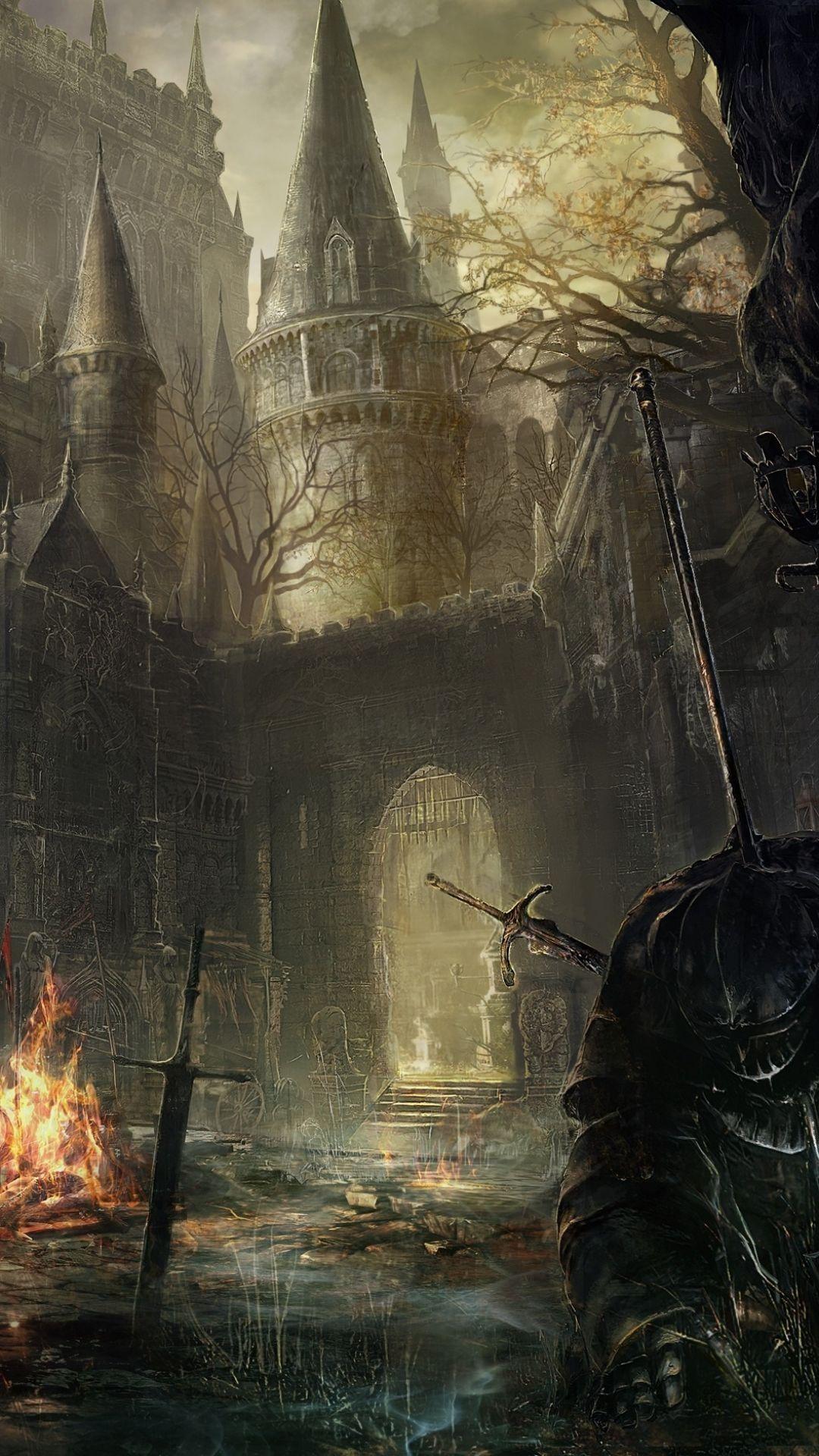 iPhone 7 Plus – Video Game/Dark Souls III – Wallpaper ID: 607891