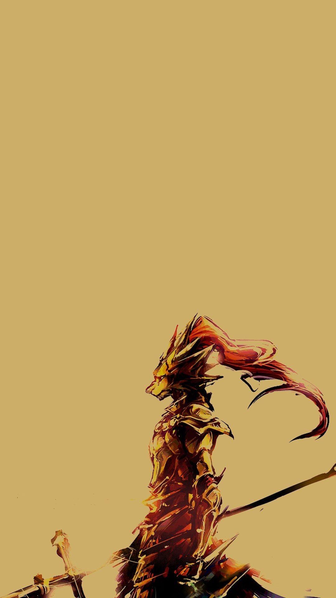 36 Dark Souls Wallpaper Ornstein