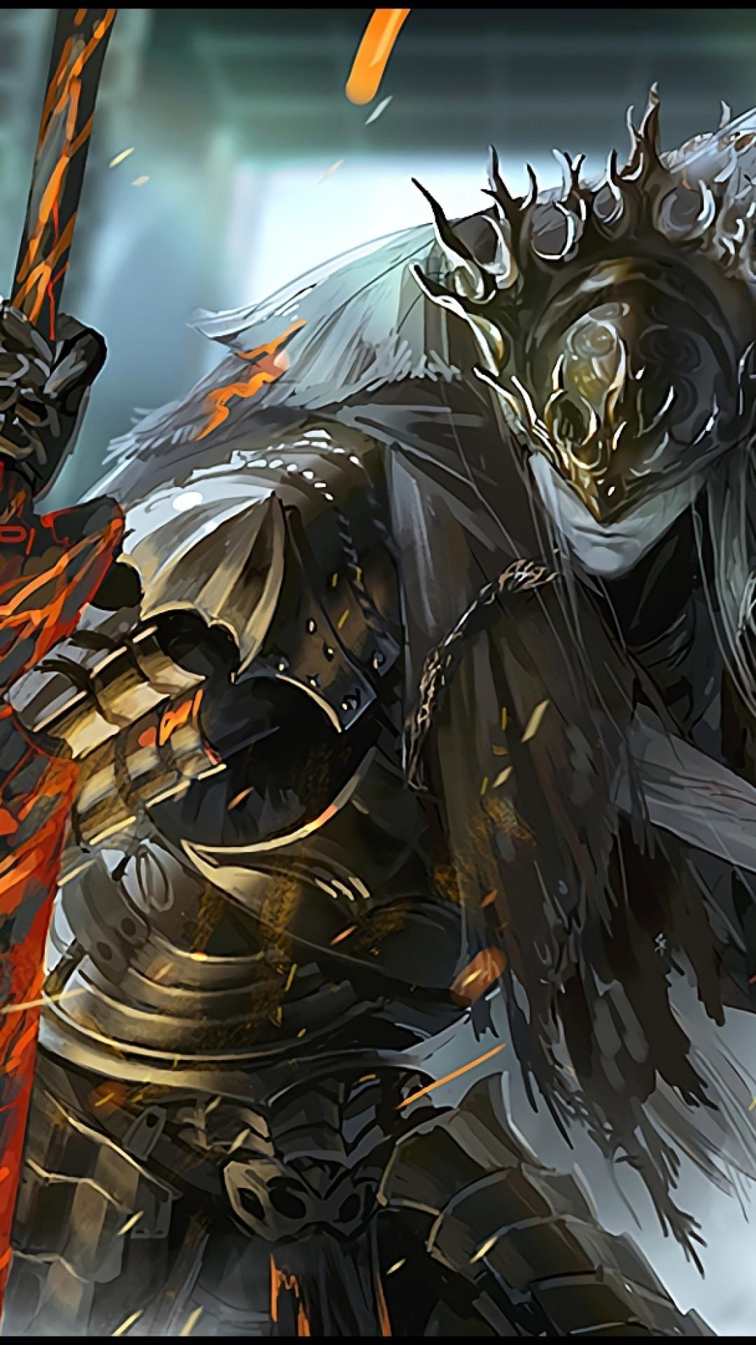 Dark Souls 3, Lorian, Lothric, Artwork, Boss