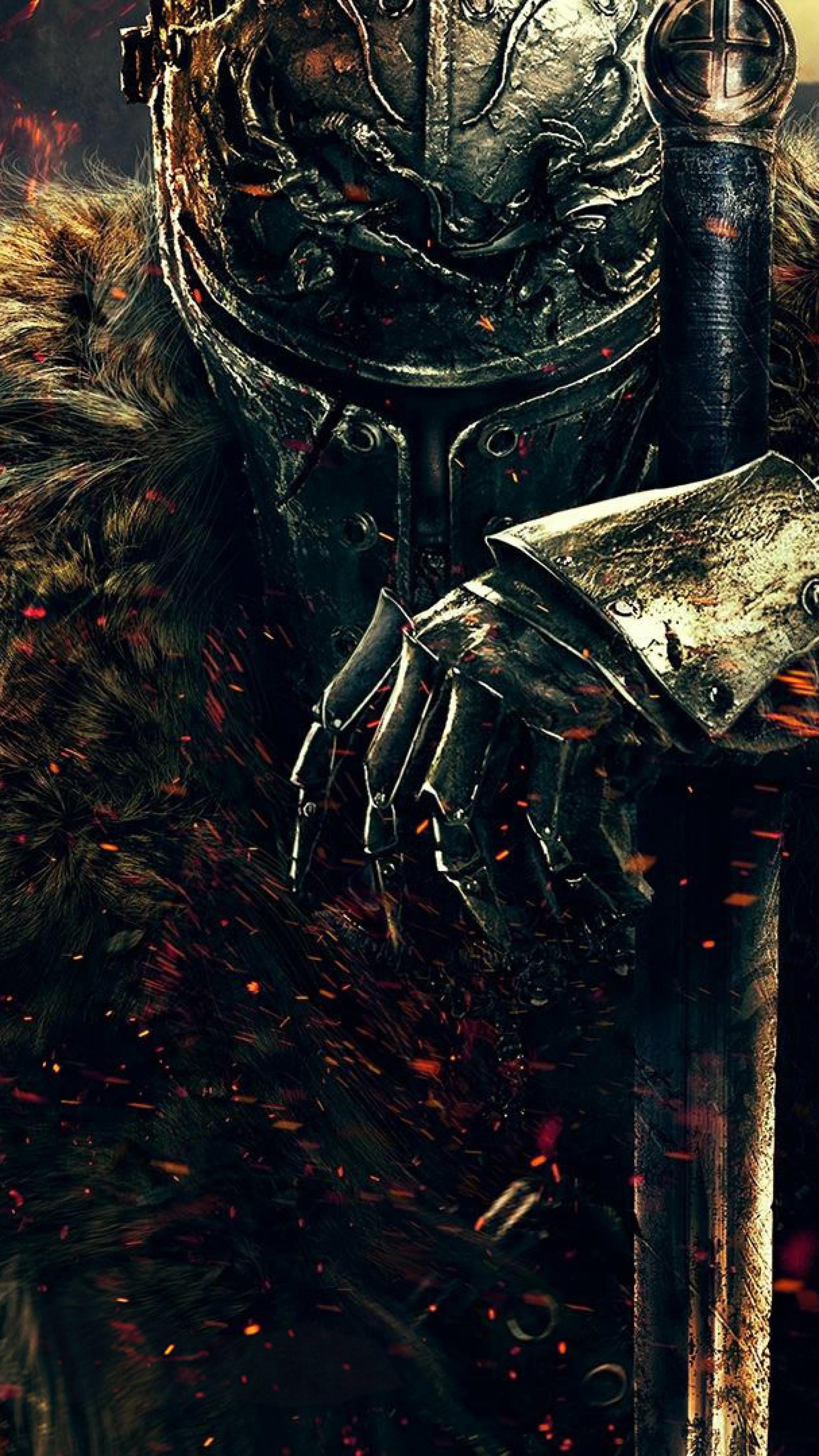 Wallpaper dark souls ii, dark souls, warrior, knight, from  software,