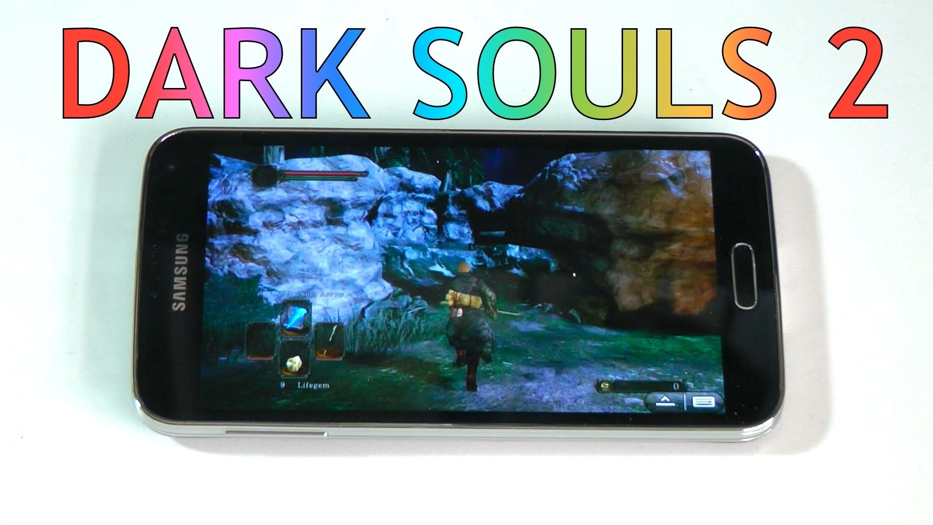 Dark Souls 2 on Android – Samsung Galaxy S5 Gaming!