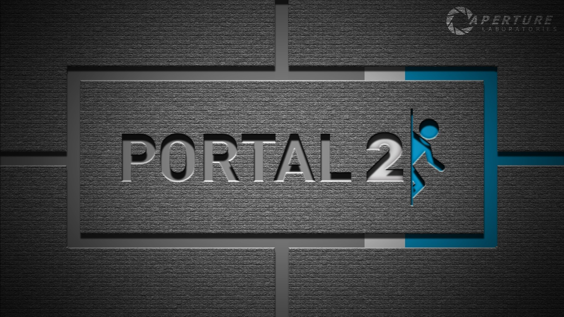 Portal 2 Full HD Wallpaper 1920×1080