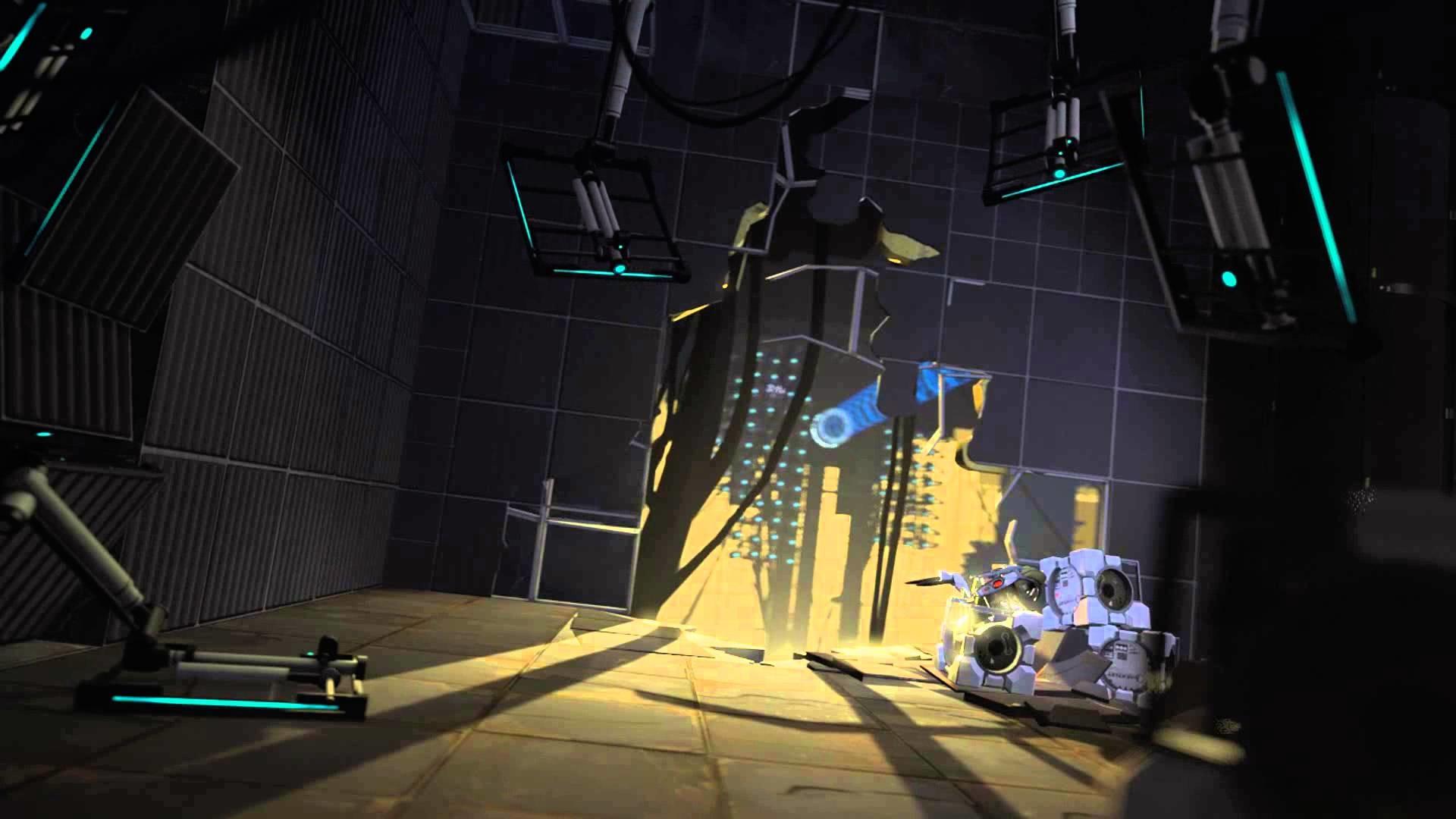 L4D Background – Portal 2 Menu 4 – Mod Left 4 Dead 2