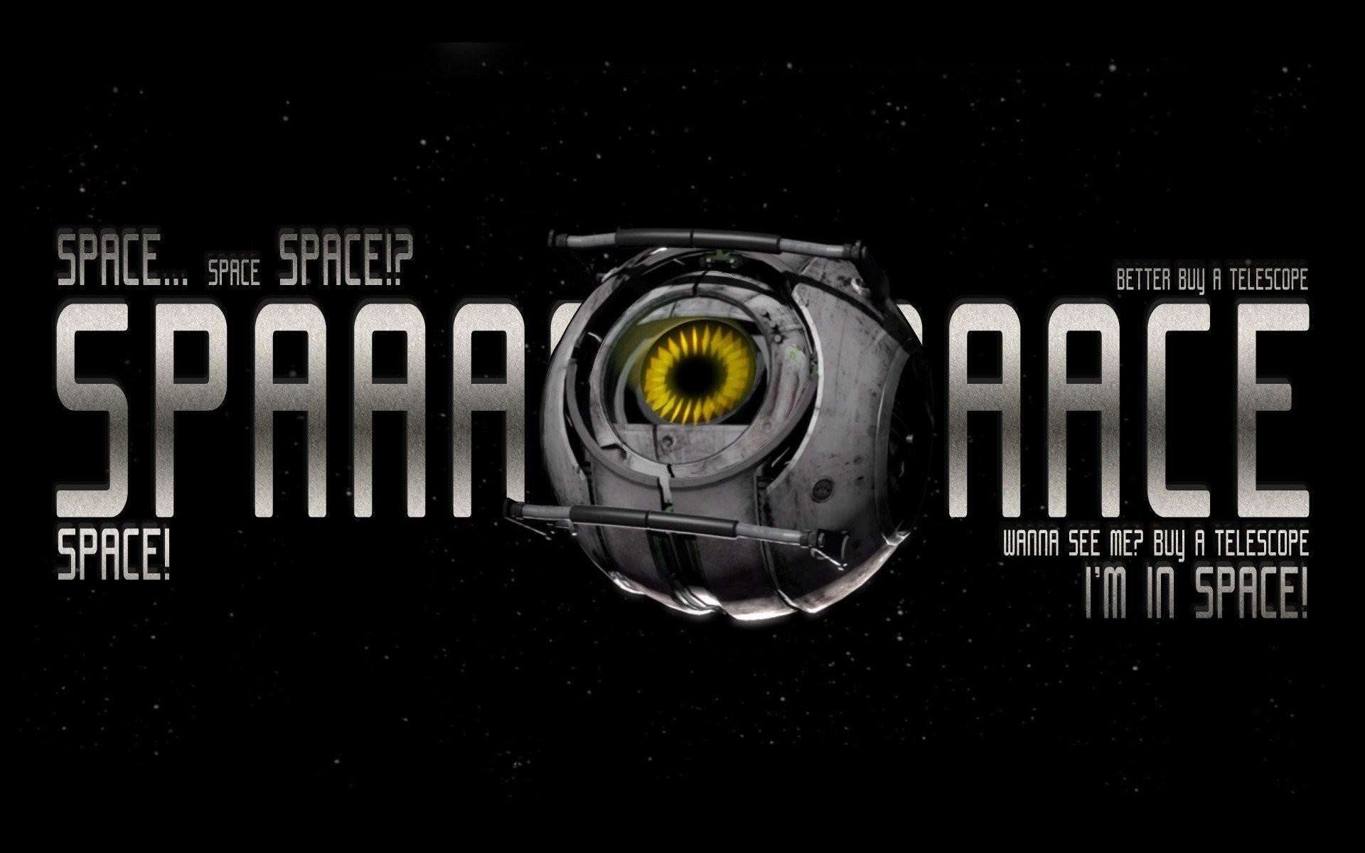 Video Games Space Stars Portal 2 Valve Corporation Aperture Laboratories  Robots Spheres Wallpaper …