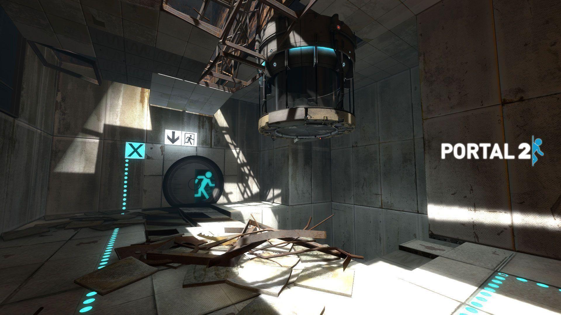 Hd Portal 2 Background