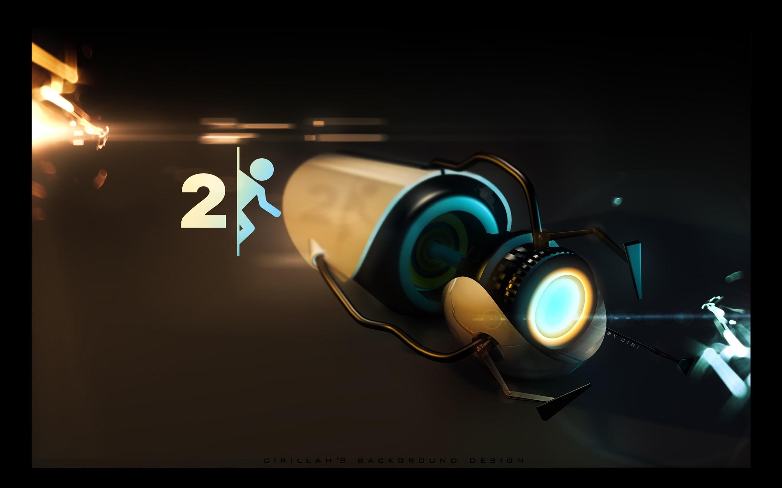 Portal 2 Wallpaper | feelgrafix.com | Pinterest | Wallpapers, Xbox .