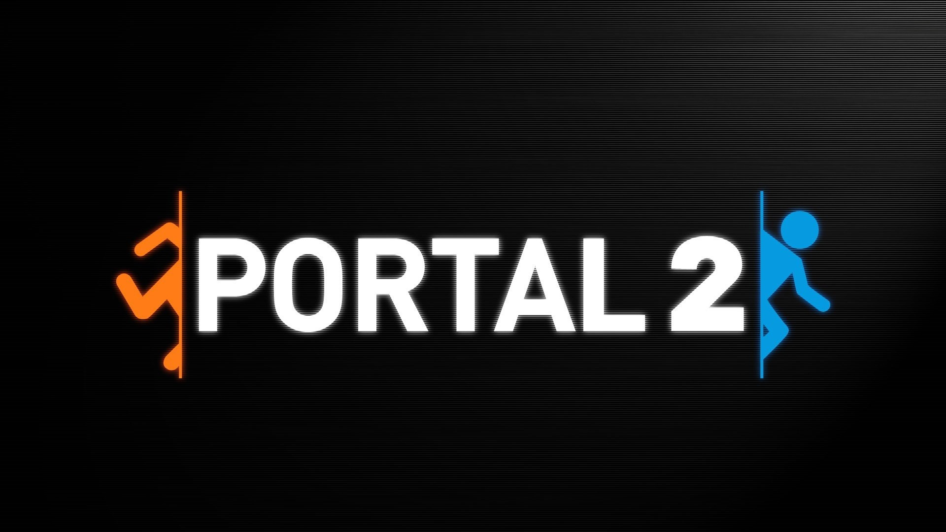 Portal 2 Video Games Valve Simple Black Background Minimalism …