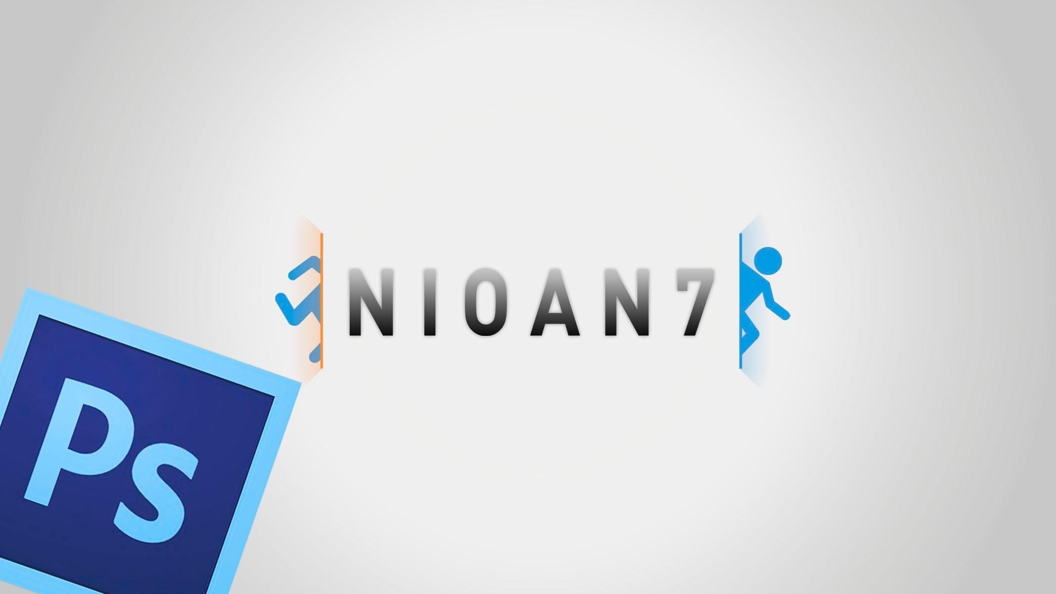 TUTORIAL PHOTOSHOP РBackground Portal 2 РNuevo Dise̱o YouTube