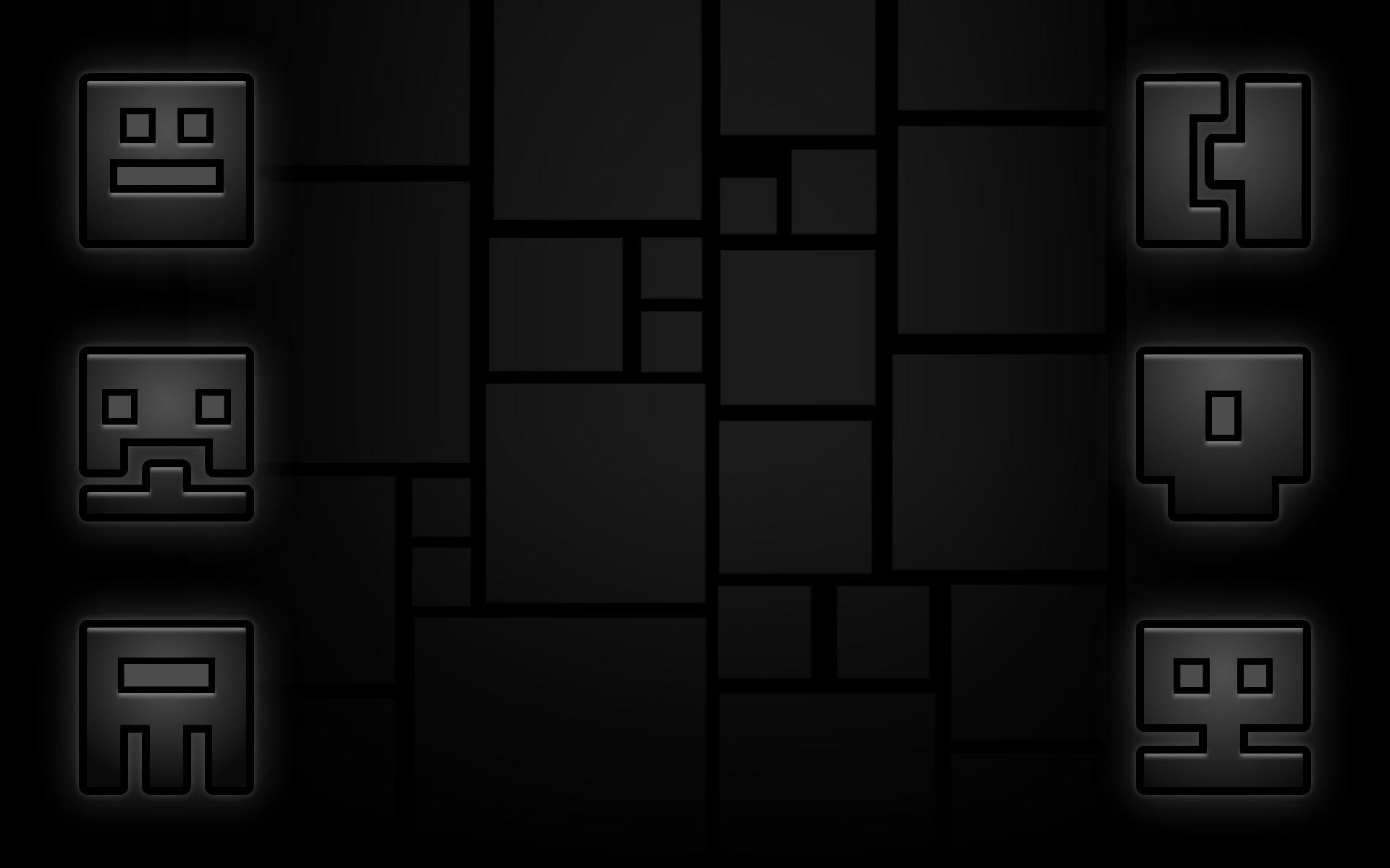 Video Game – Geometry Dash Bakgrund