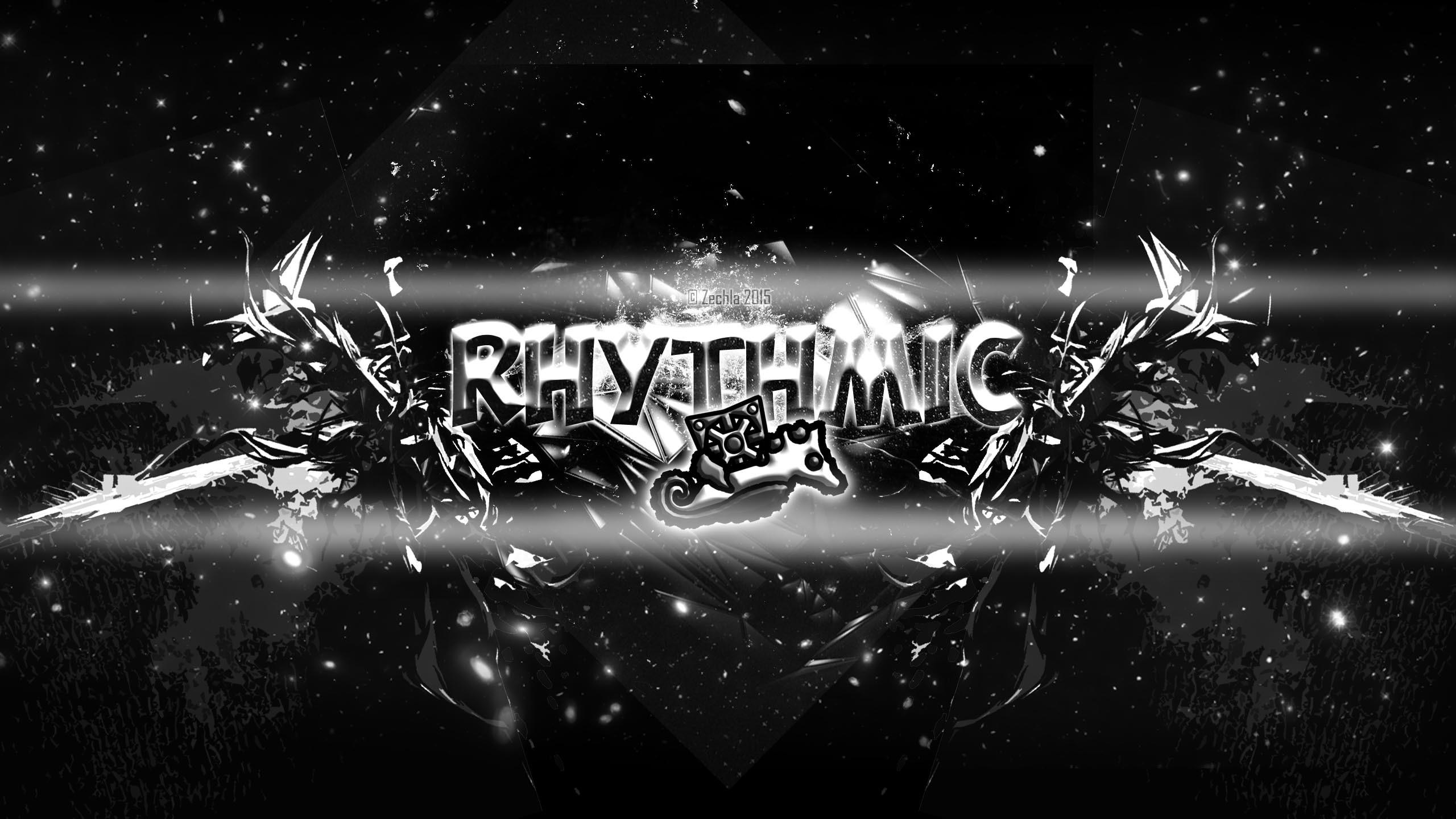 … 'Geometry Dash' Rhythm1c's YouTube Banner …