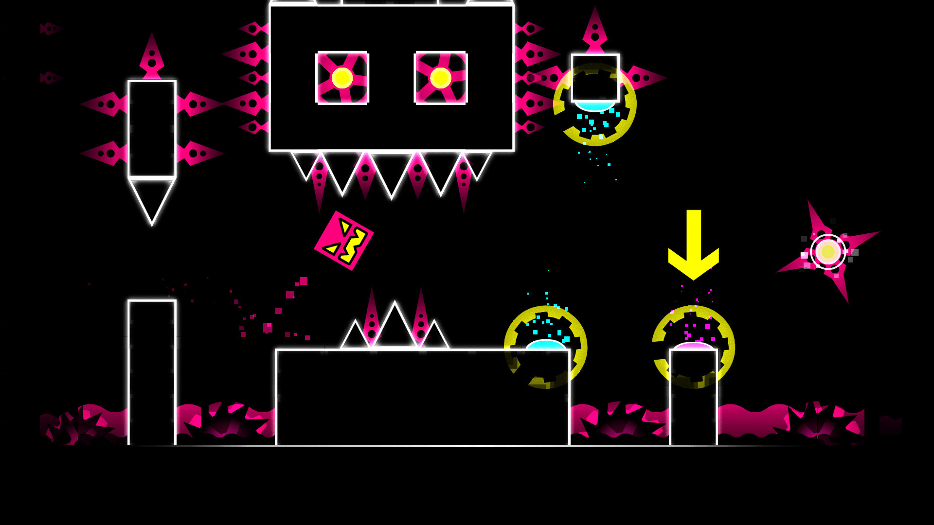 Wickedly Addictive Fun with Geometry Dash