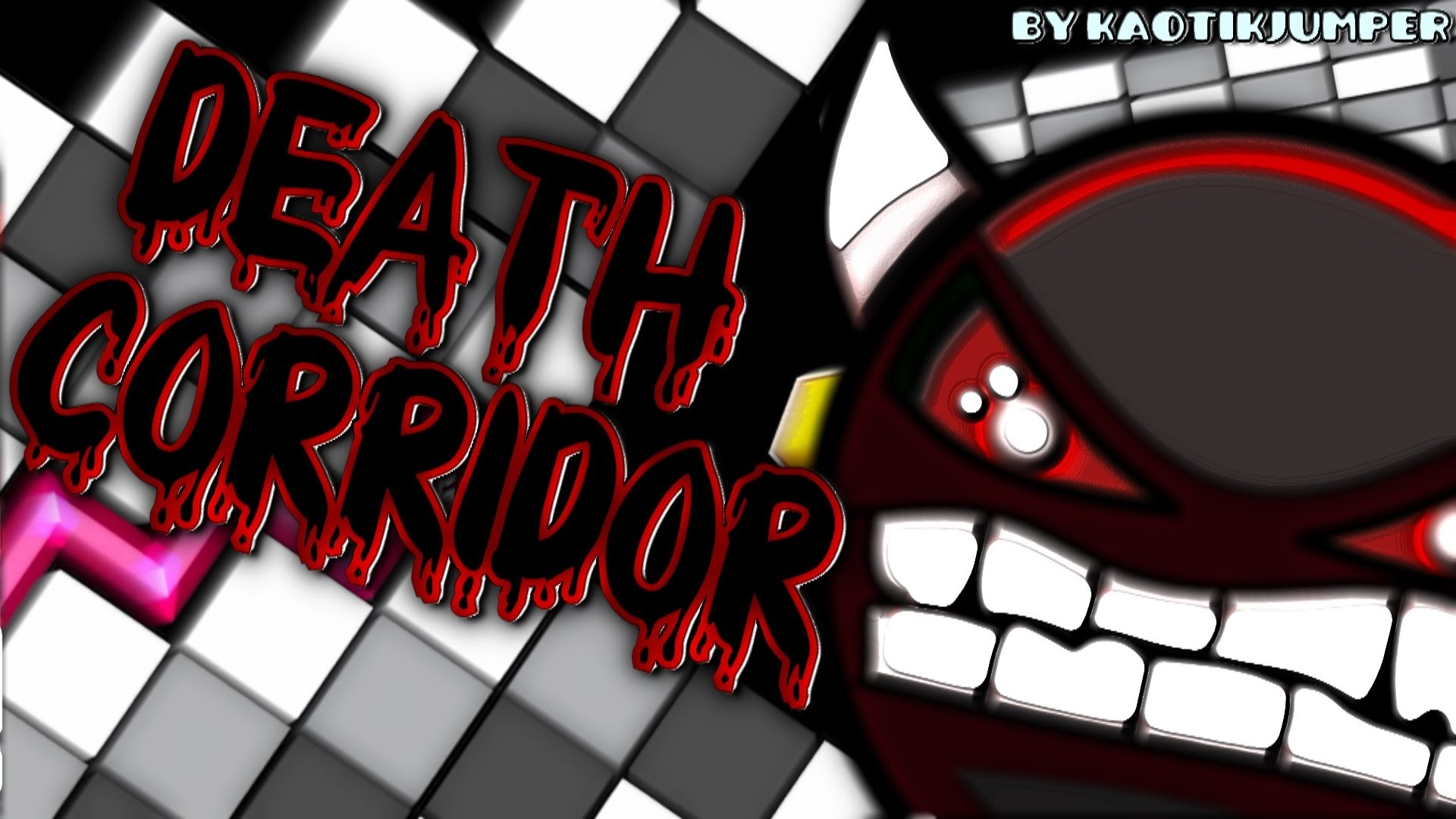 Geometry Dash – DEATH CORRIDOR (Original) 100% – by KaotikJumper  (Impossible) – YouTube