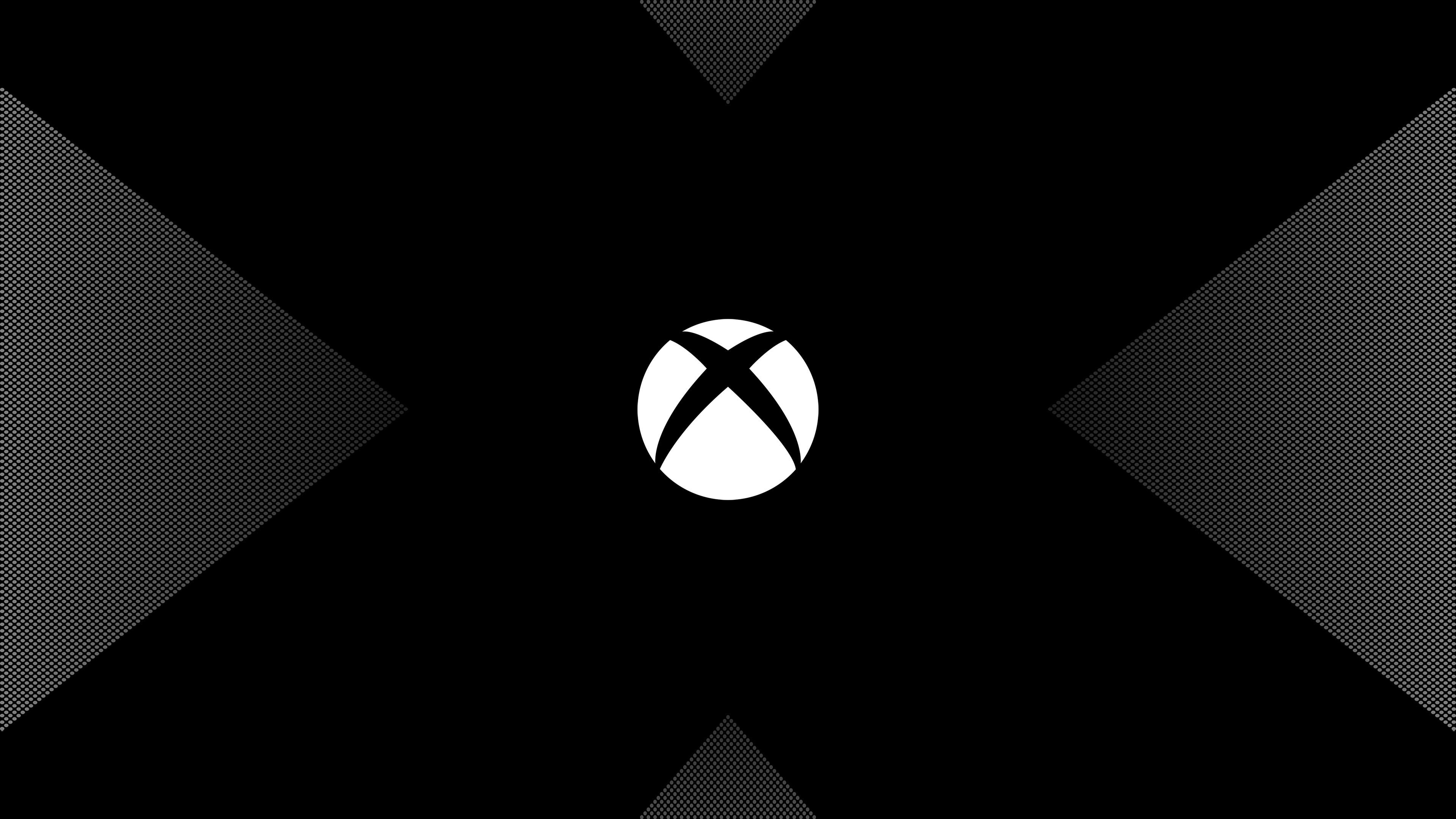Xbox One X logo 4K