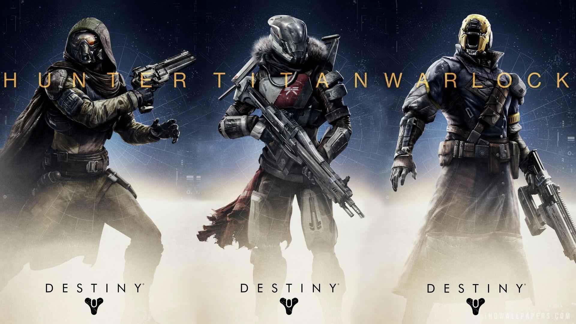 Destiny Hunter Titan Warlock HD Wallpaper – iHD Wallpapers