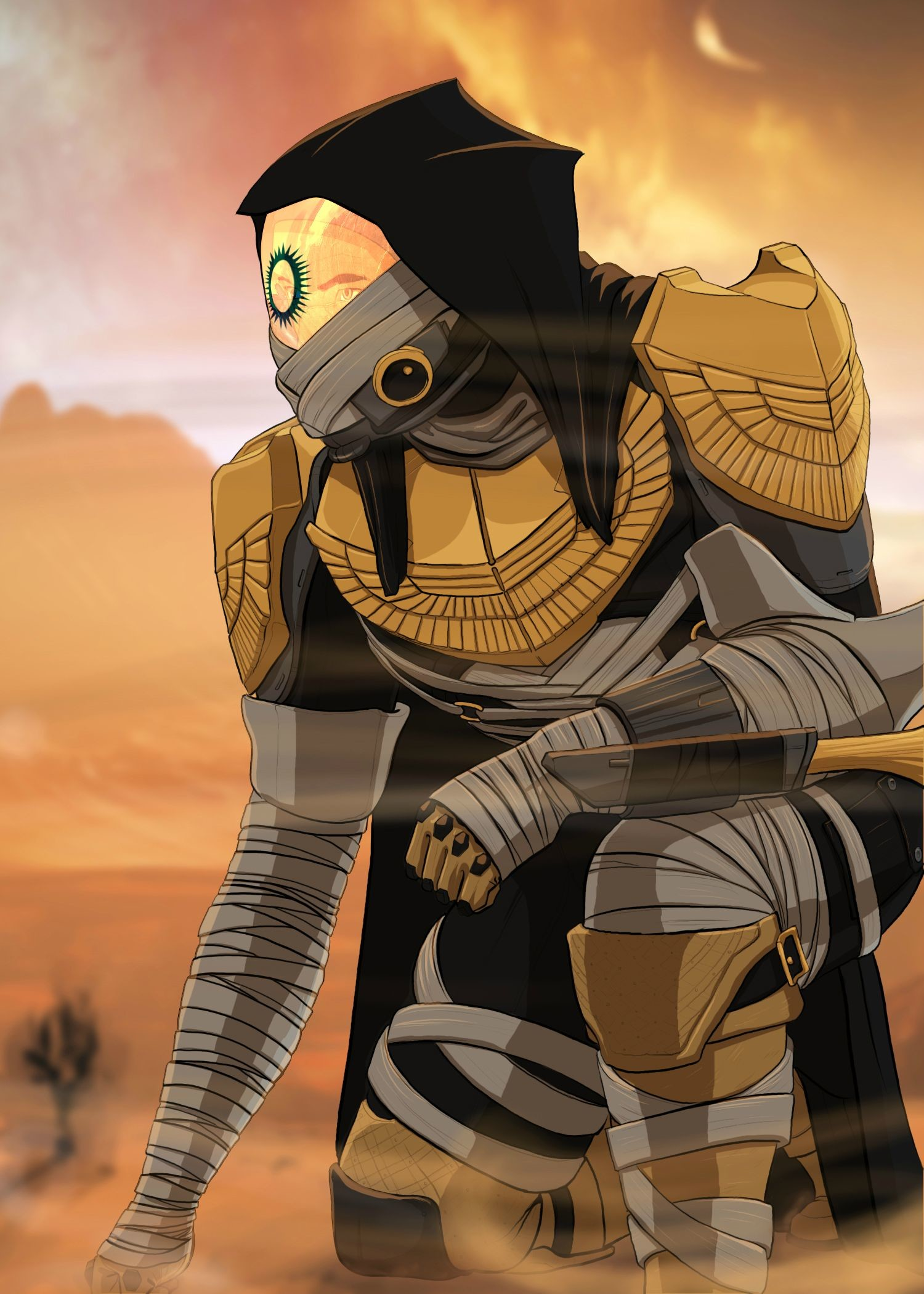 Destiny – Trials of Osiris Hunter Wallpaper by OverwatchGraphics   Destiny    Pinterest