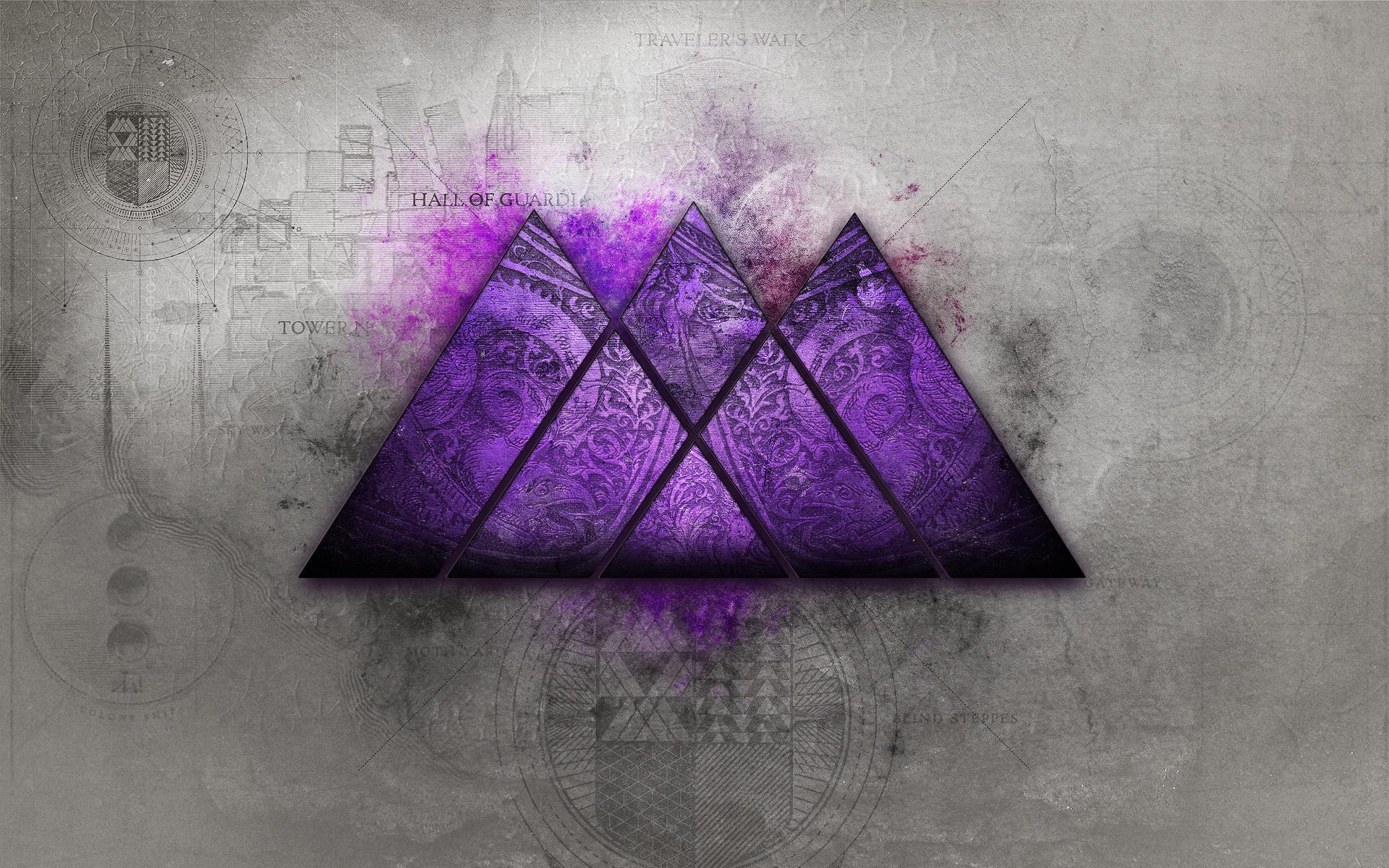 Destiny Wallpaper Series… Purple was requested – so here's a purple .