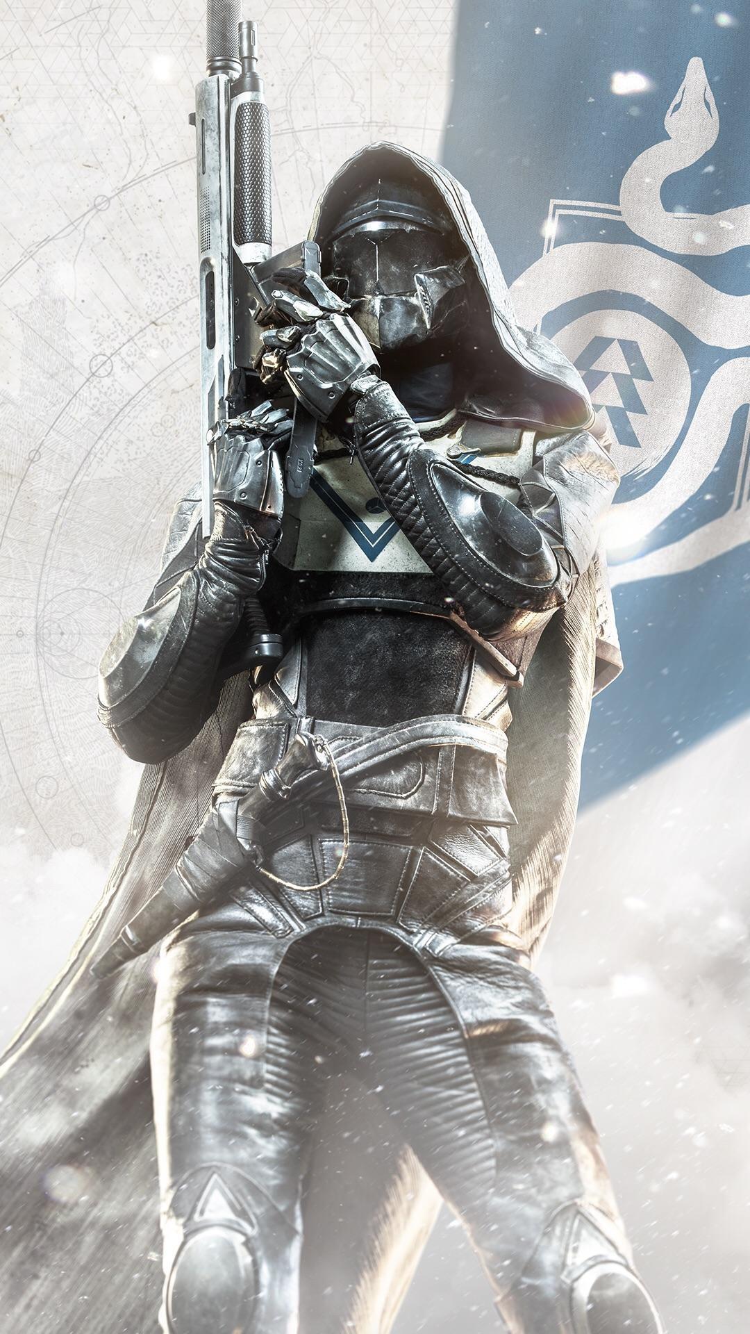 Destiny 2 – Hunter smartphone wallpaper