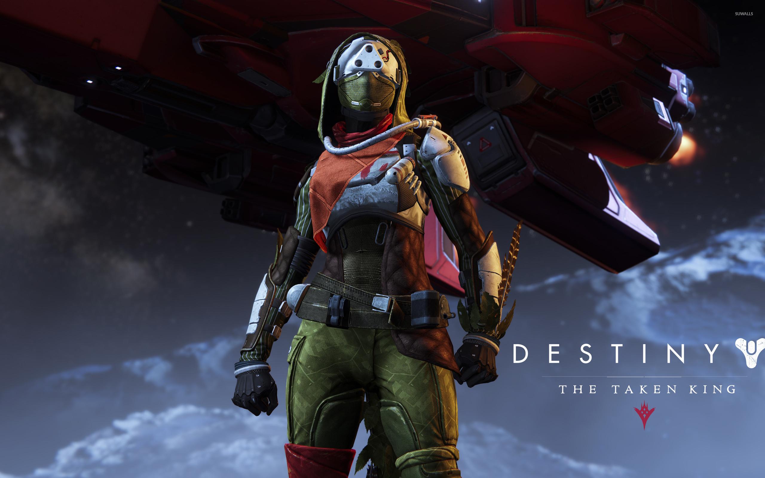 Hunter female – Destiny: The Taken King wallpaper – Game wallpapers .