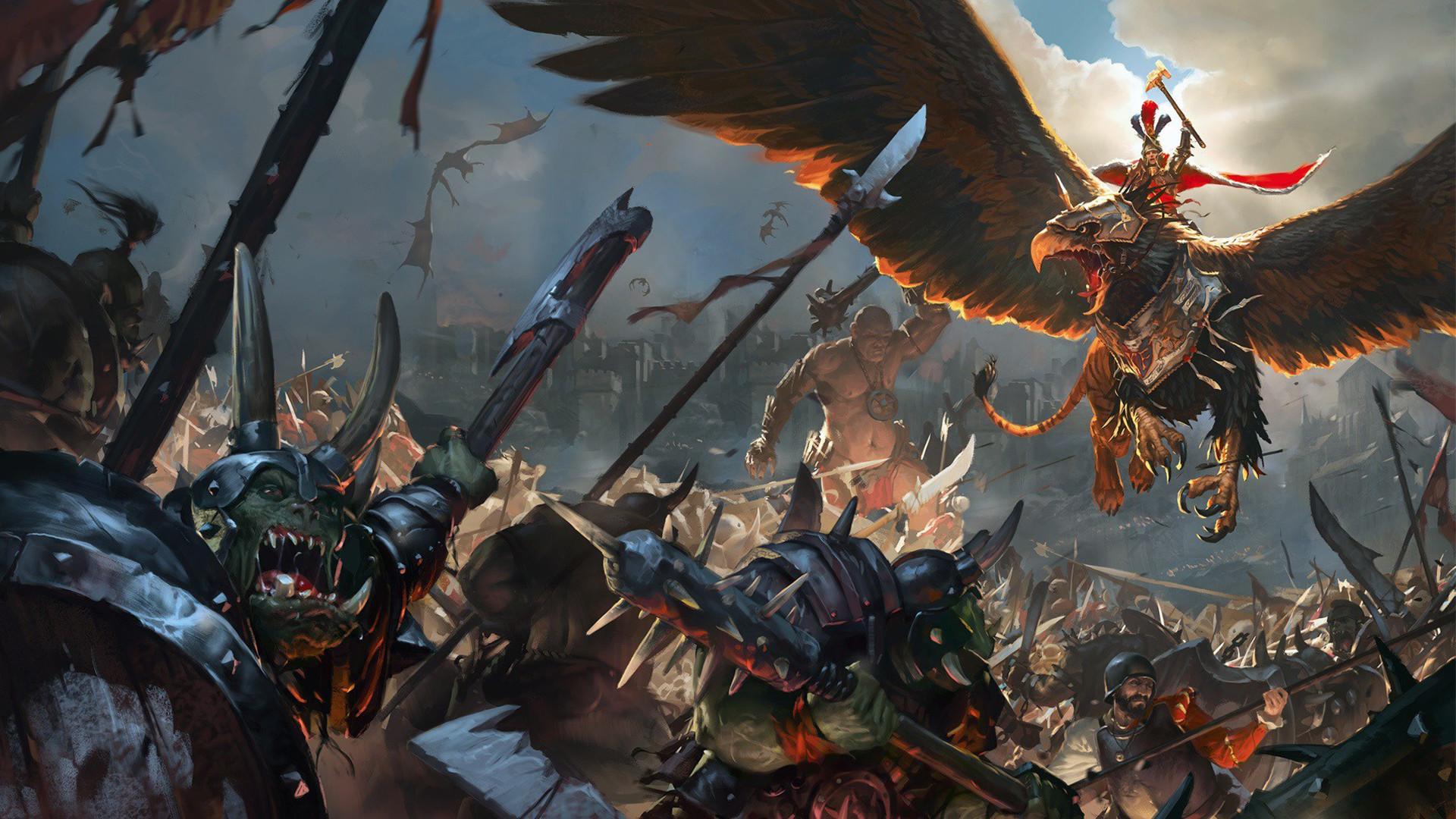 Total War: Warhammer Concept Art Wallpaper