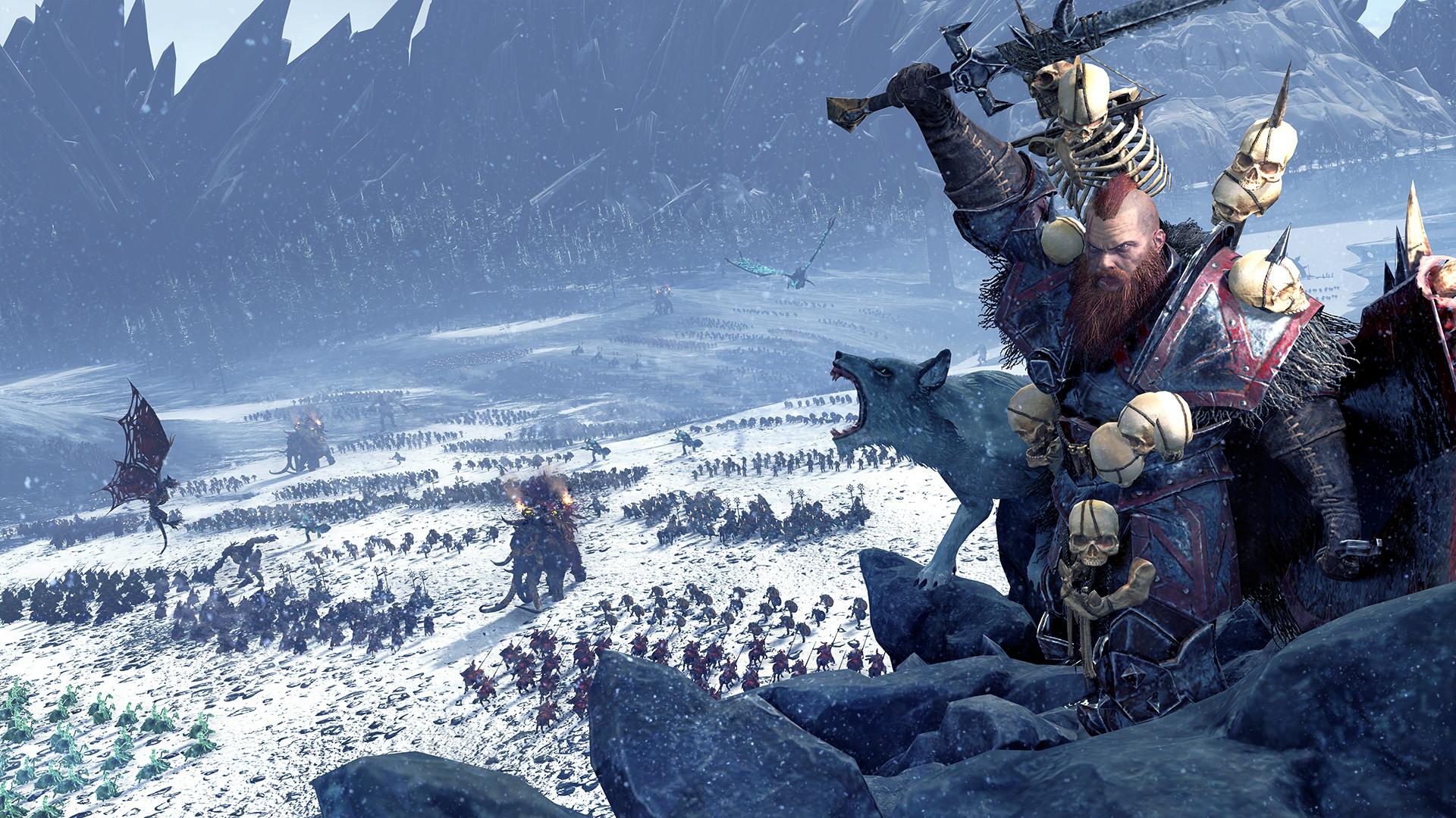 Video Game – Total War: Warhammer Fantasy Norsca (Total War: Warhammer)  Wallpaper