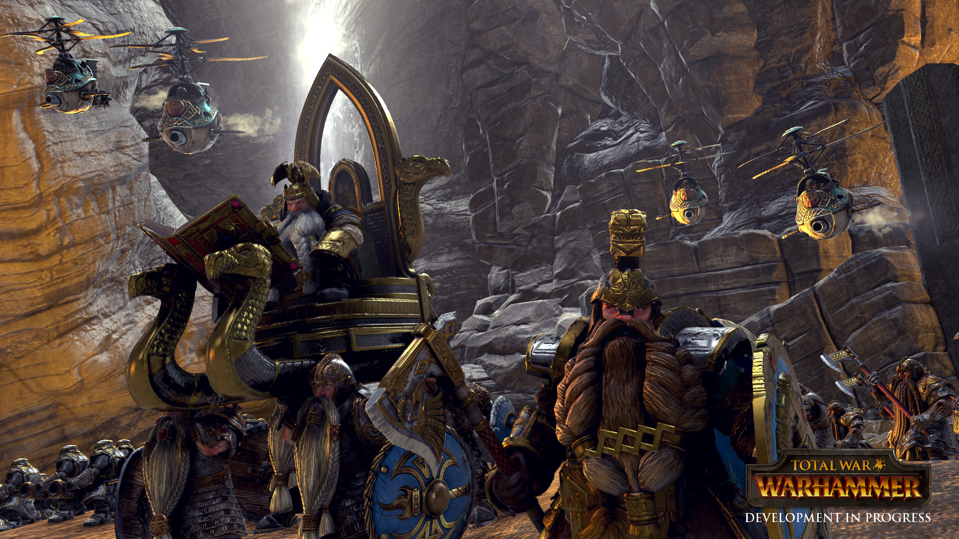 It's clear that several recent games with the engine that they're using for Total  War: Warhammer …