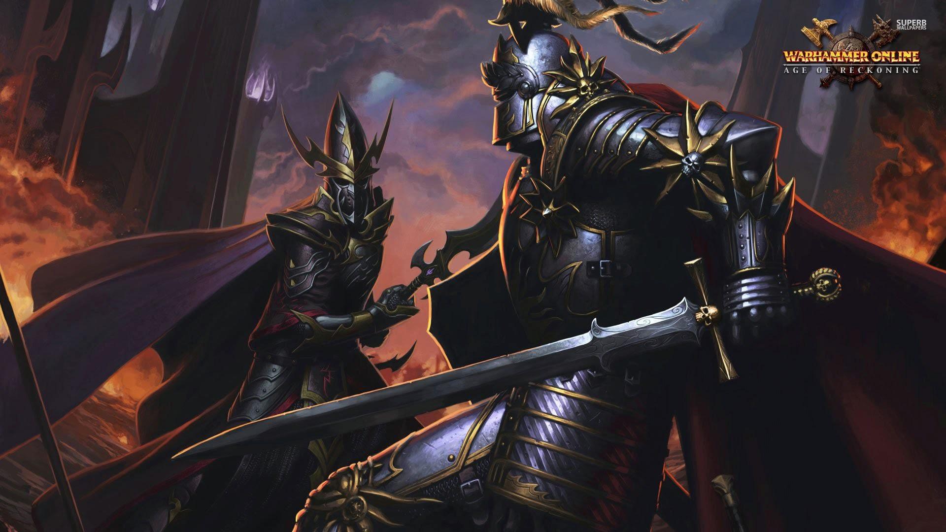 Call of Warhammer Multiplayer Battle #8: Dark Elves vs. Empire (Total War  Warhammer Mod) – YouTube